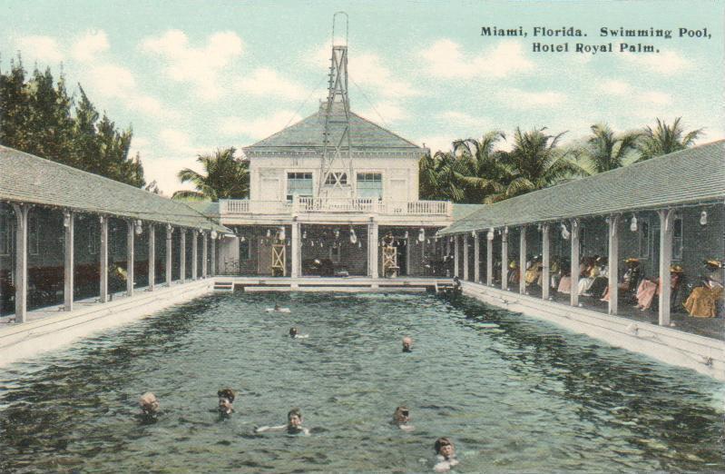 Swimming Pool, Royal Palm Hotel, Miami, FL Royal Swimming Pools
