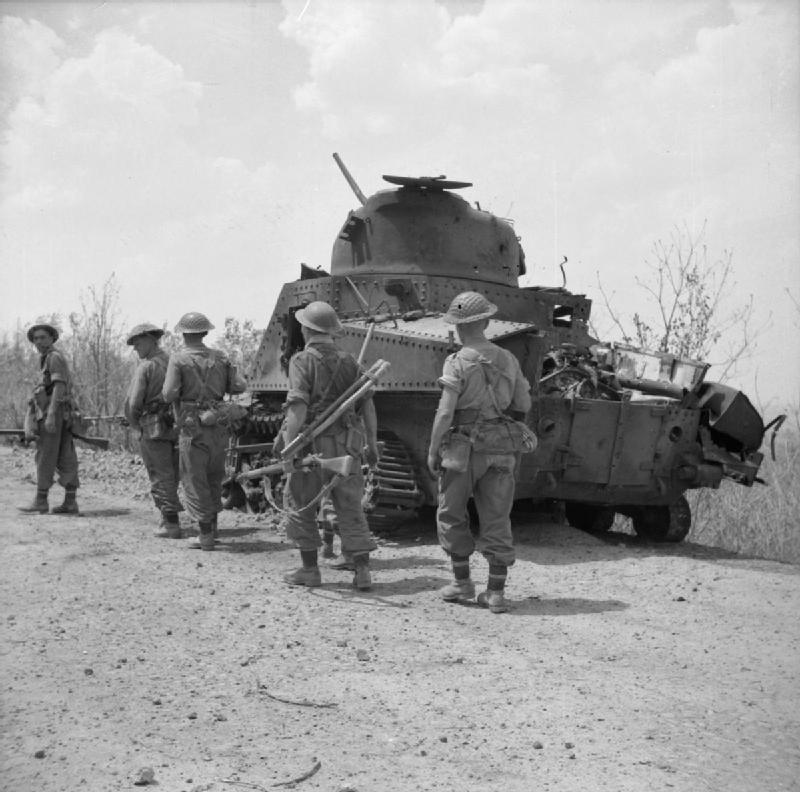 The British Army in Burma 1945 SE3859