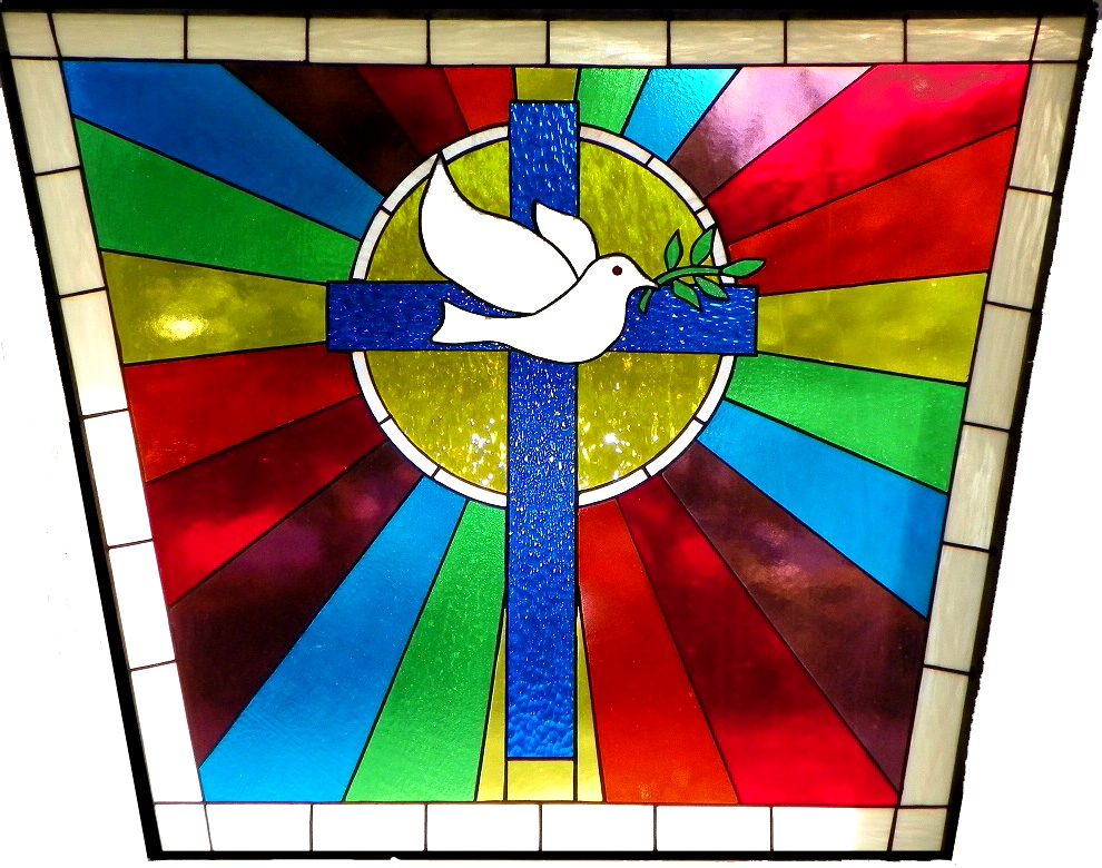 File The Dove And Cross Stained Gl Window At Church Of