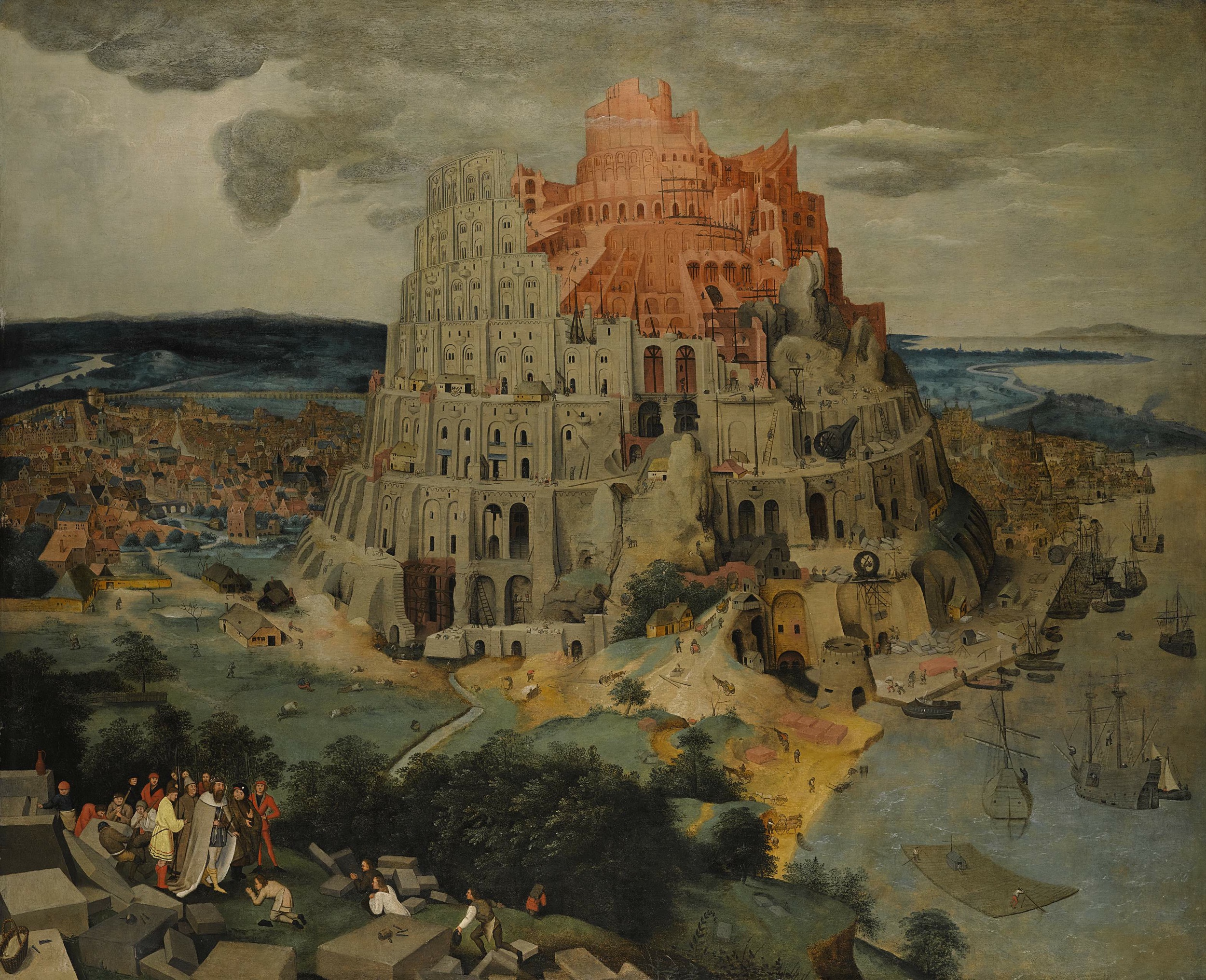 File The Tower Of Babel Oil On Panel Painting By Pieter Brueghel The Younger Jpg Wikimedia Commons