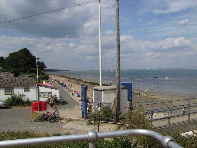 The beach at Bembridge - geograph.org.uk - 1114919