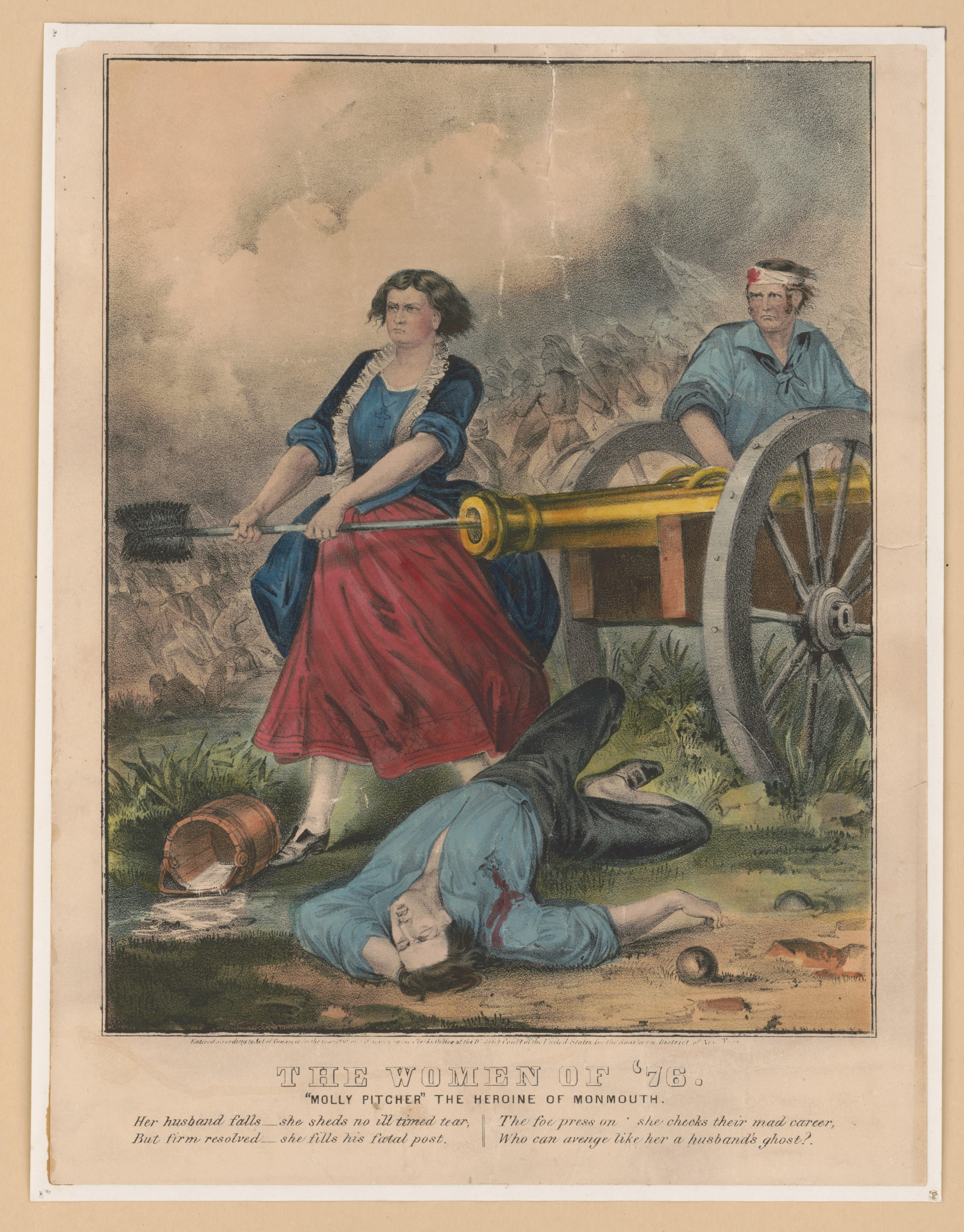 file the women of 76 molly pitcher the heroine of monmouth
