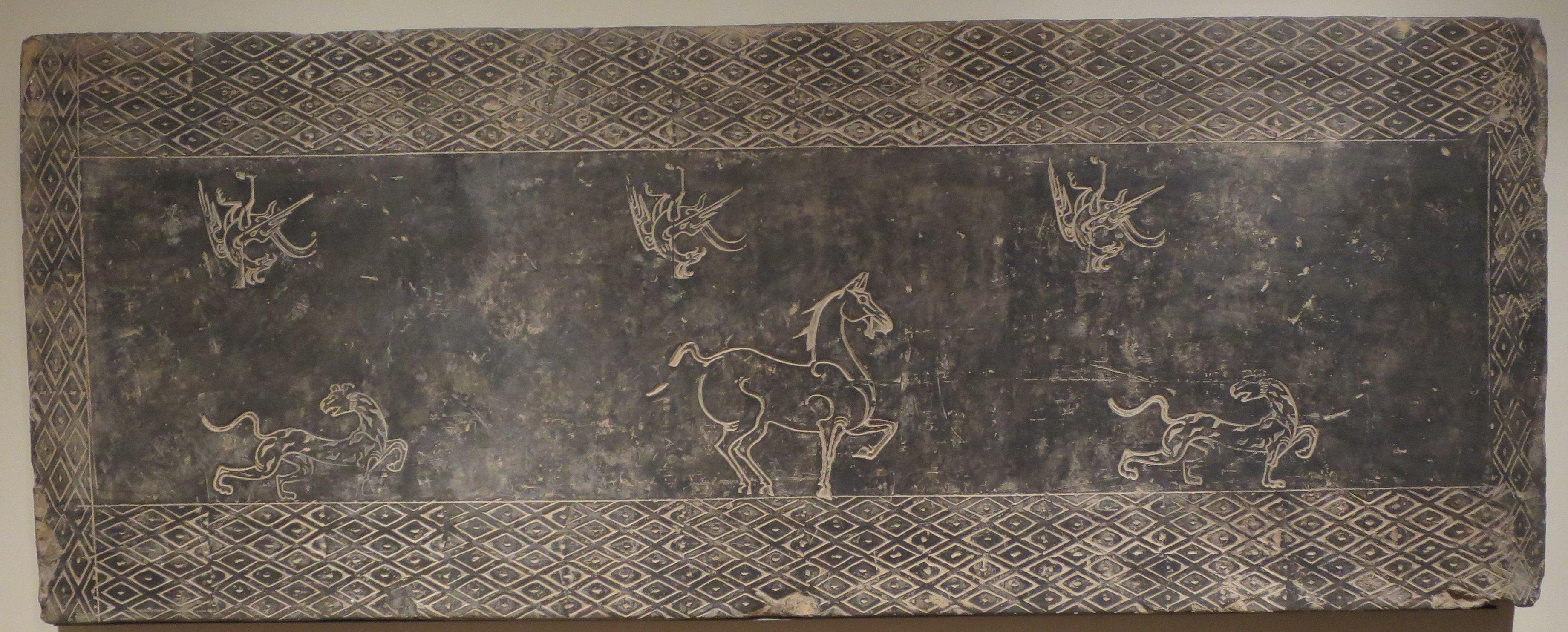 Filetomb Wall Tile China Western Han Dynasty Dayton Art