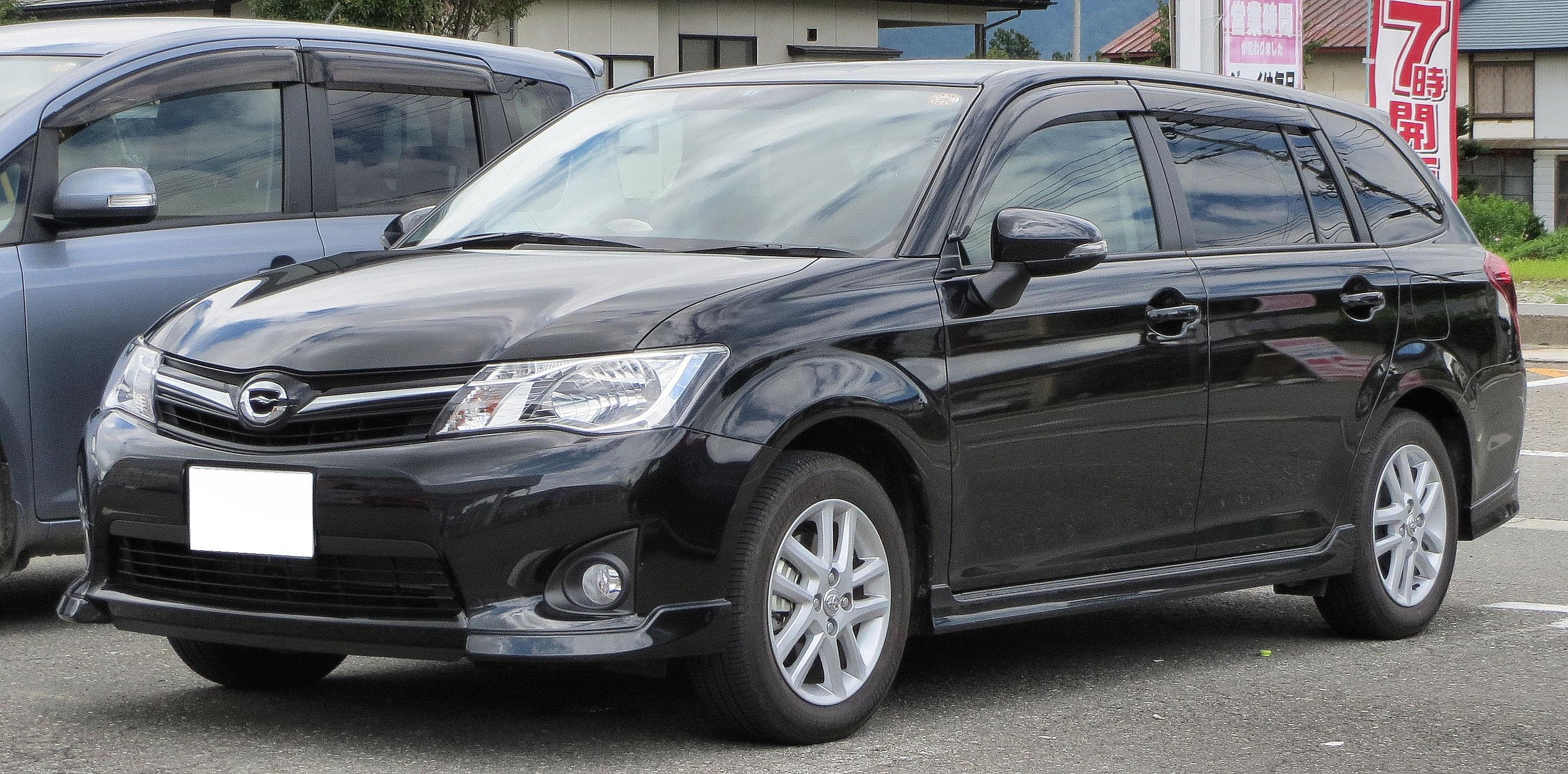 File:Toyota Corolla Fielder (NZE161G) 1.5G AeroTourer.JPG ...