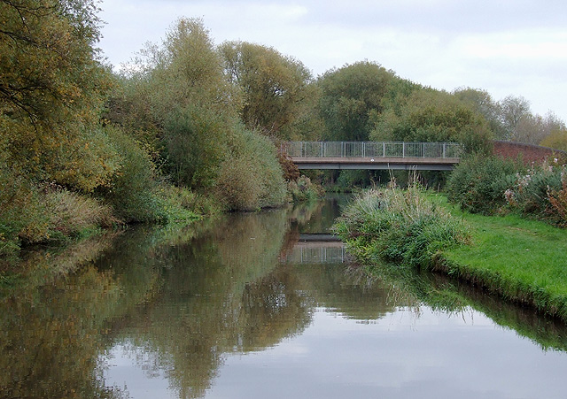 Trent and Mersey Canal west of Willington, Derbyshire - geograph.org.uk - 1586744