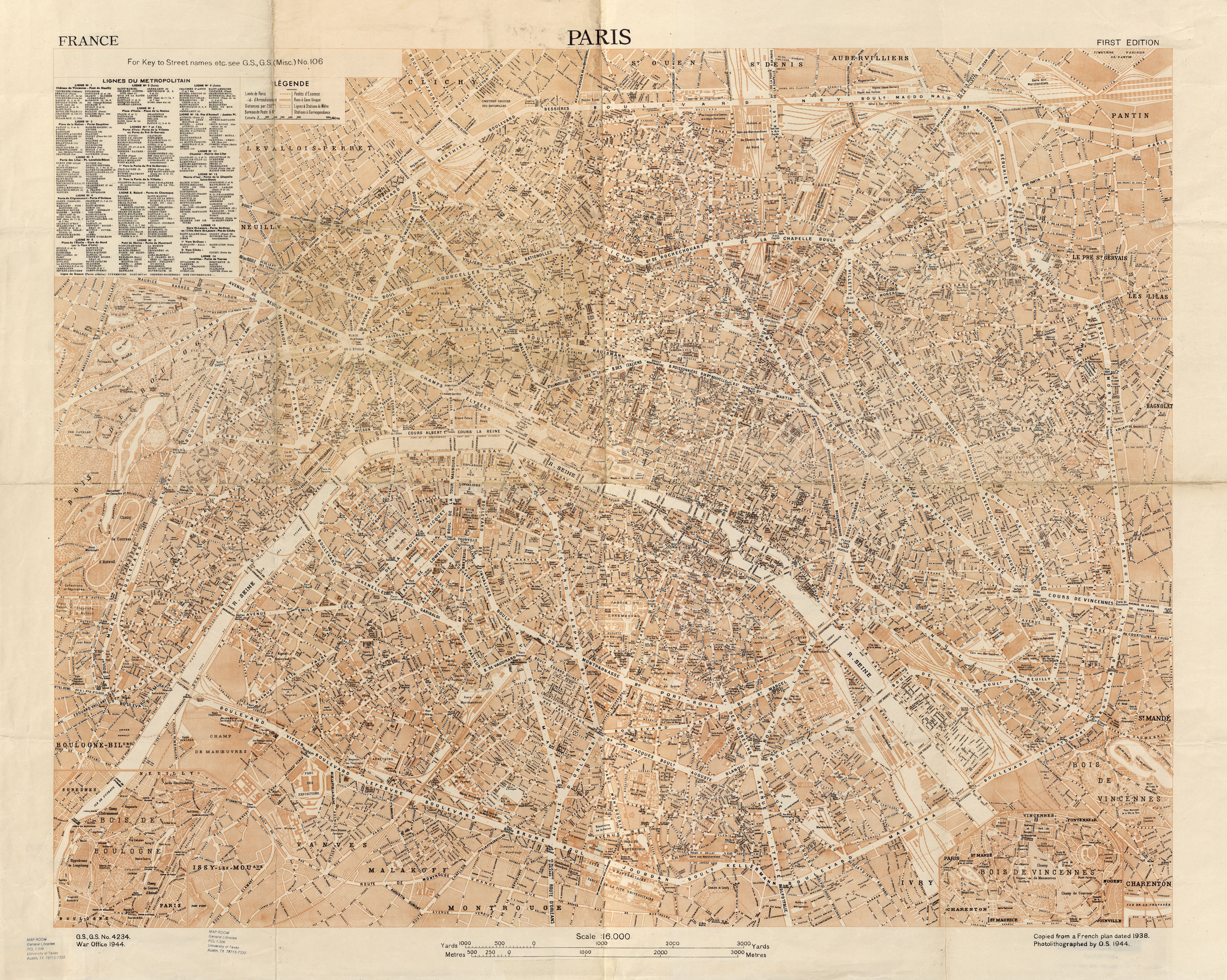 File:U.S. Army Map Service, Paris 1944 - The University of Texas ...