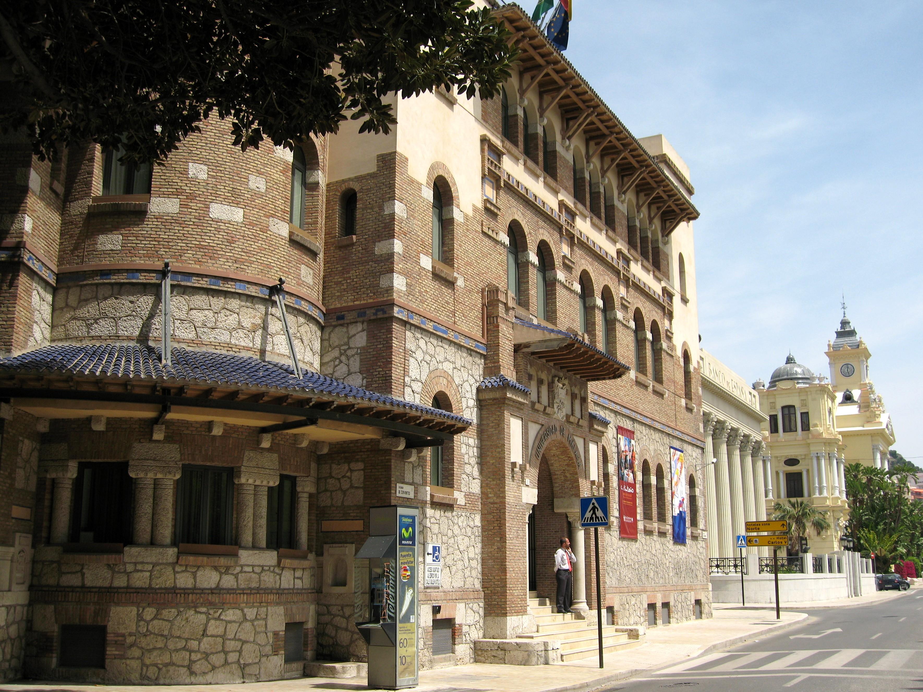 Universidad de Málaga - Wikipedia, la enciclopedia libre