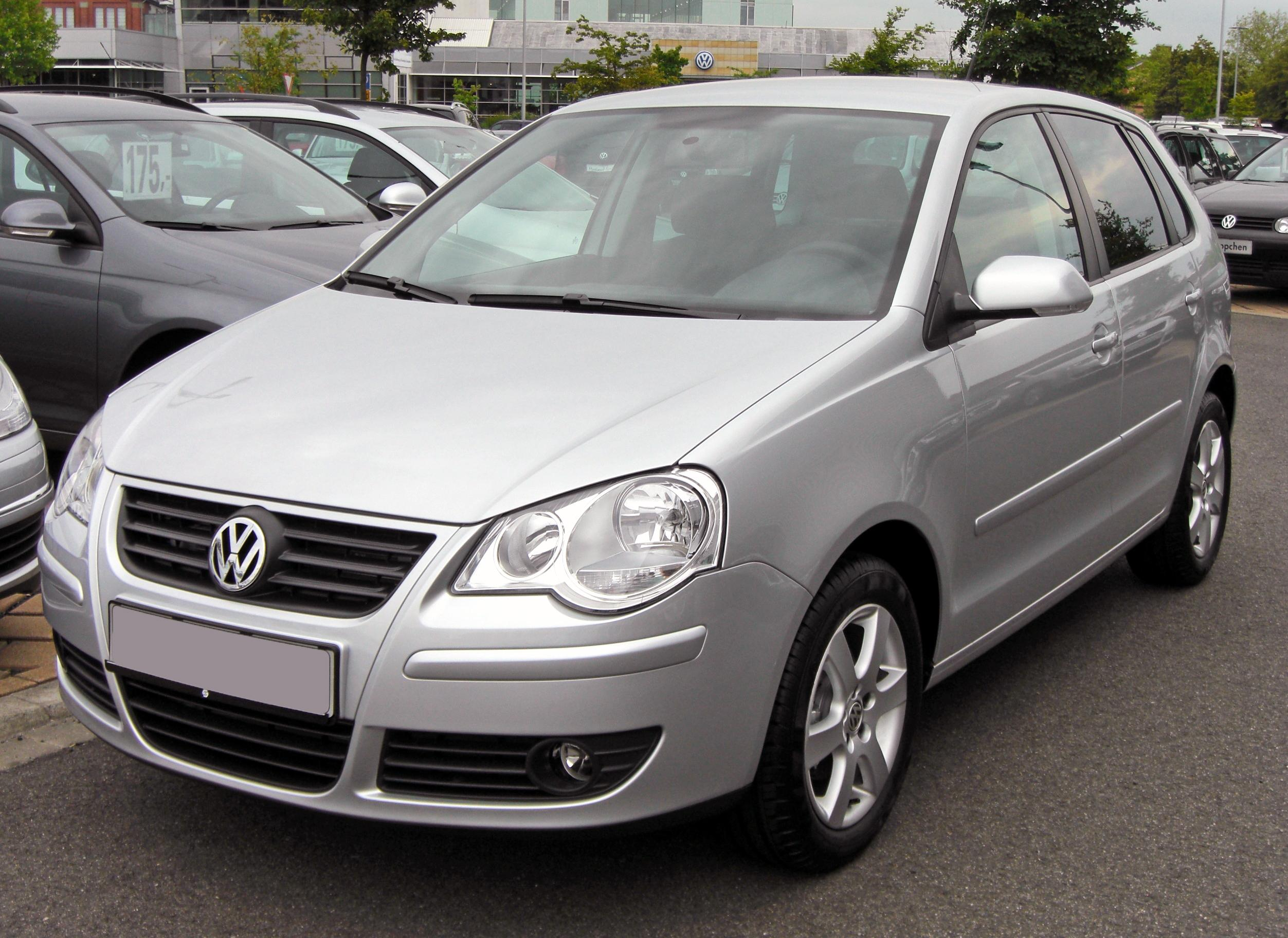 Description VW Polo IV Facelift Silver Edition 20090620 front.JPG