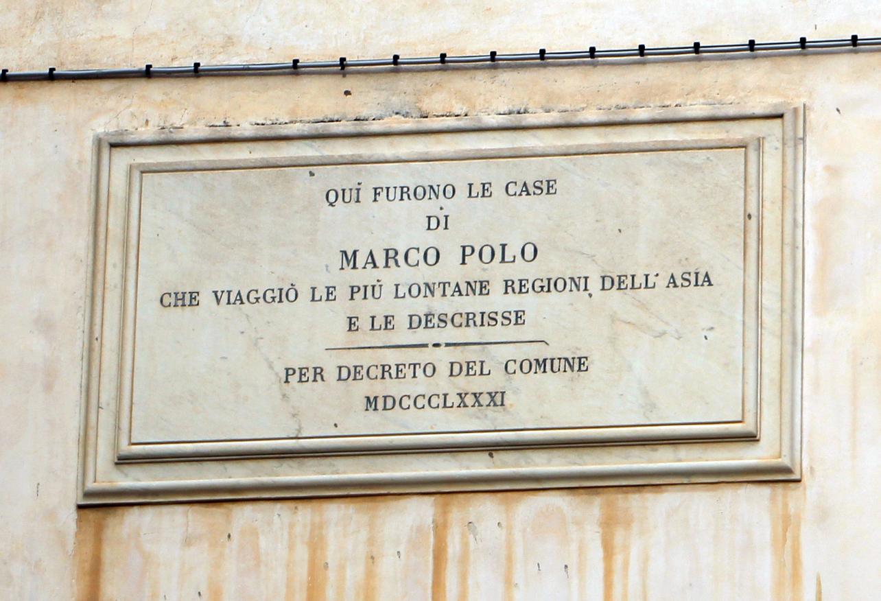 File:Venezia, casa di marco polo della corte del milion vista dal ...