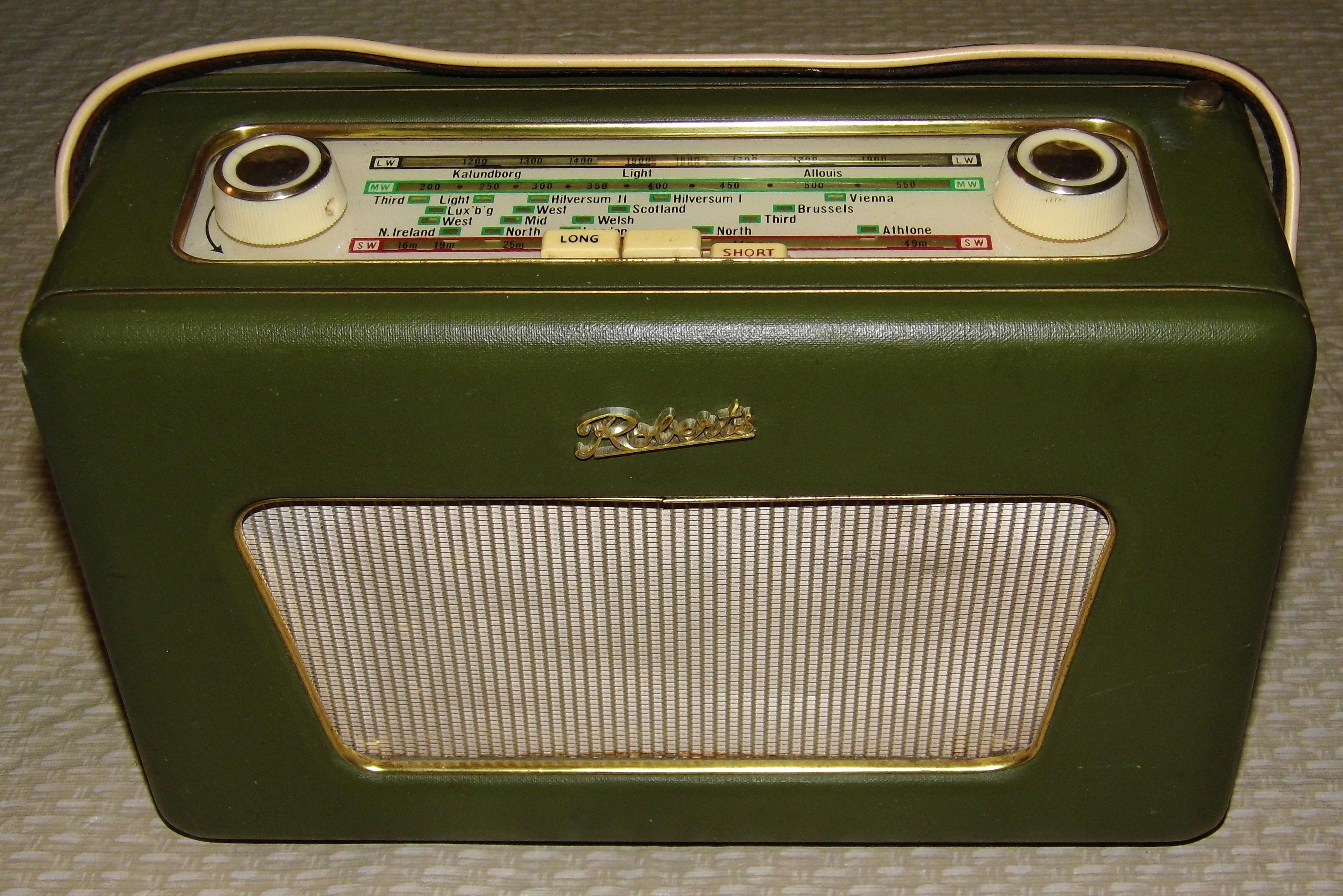 Transistor radio Etsy