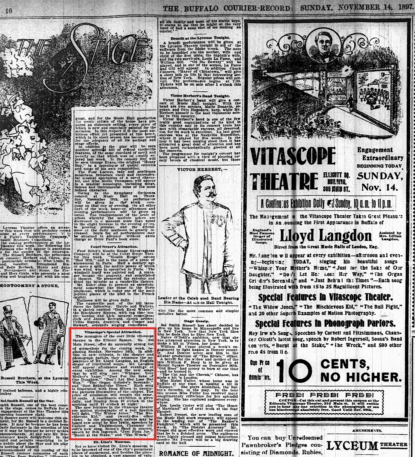 File:Vitascope Theatre advertisement and article, The