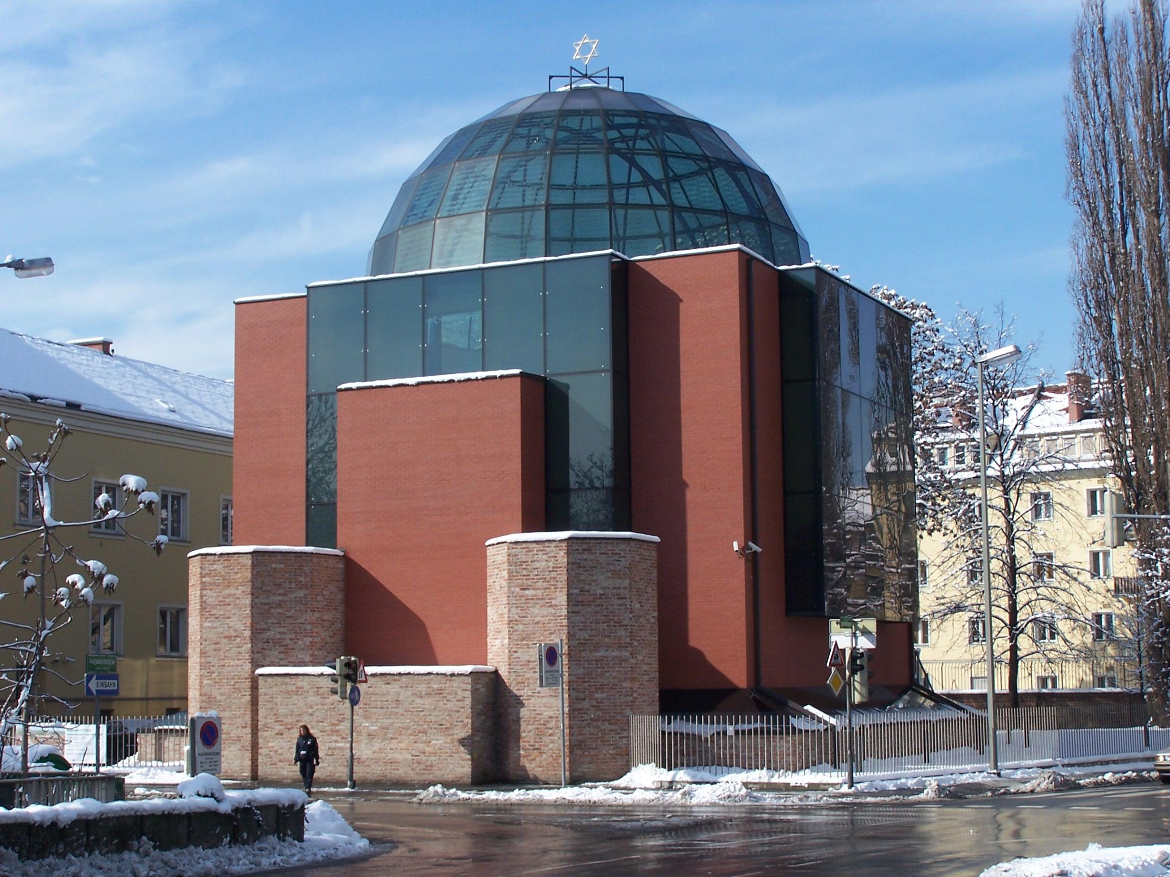 Neubau der Grazer Synagoge