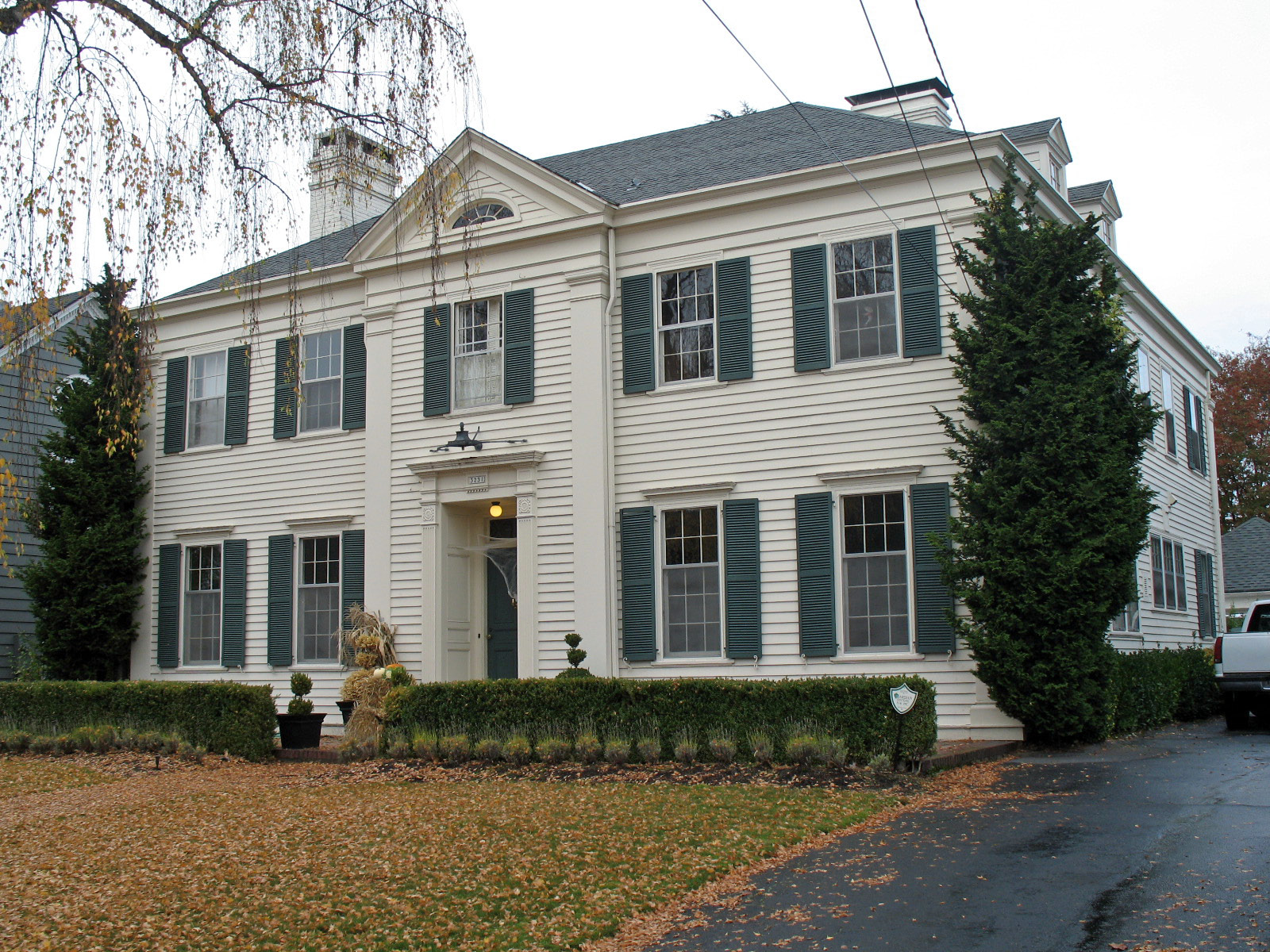 William A. Haseltine House