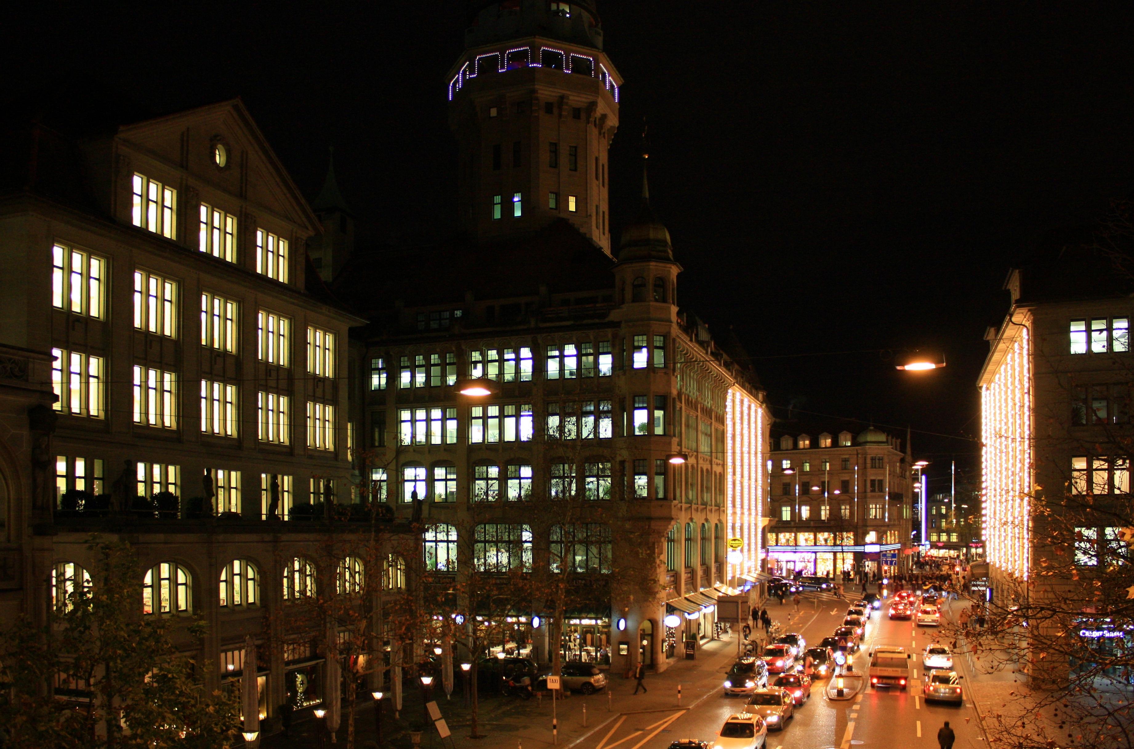 Zürich Weihnachtsbeleuchtung.File Zürich Uraniastrasse Lindenhofstrasse Img 4341 Shiftn Jpg