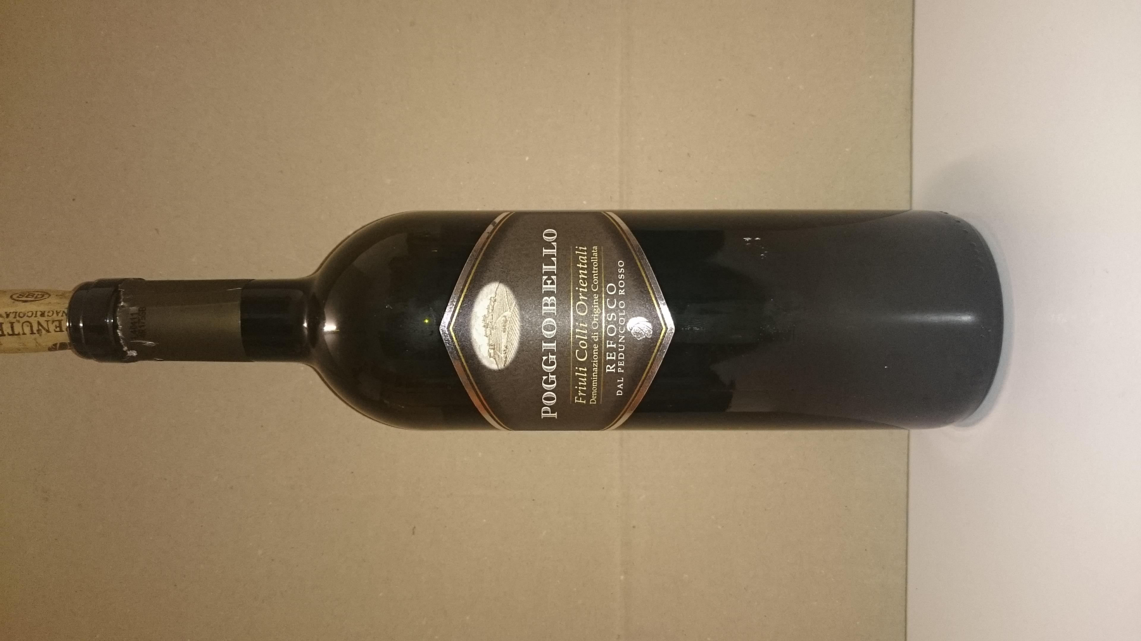 "File:"" 15 - ITALY - Red wine bottle Refosco DOC.jpg - Wikimedia Commons"