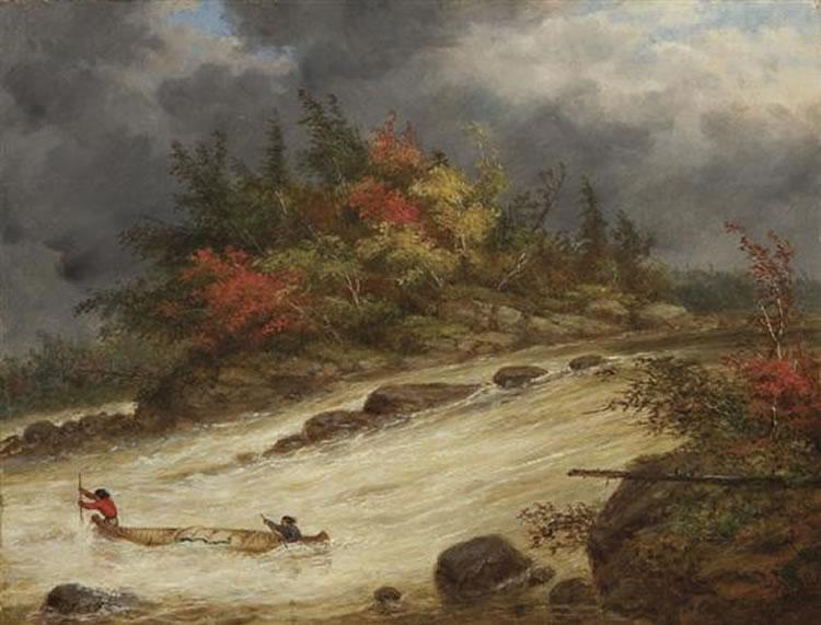 Canoe Oil Paintings