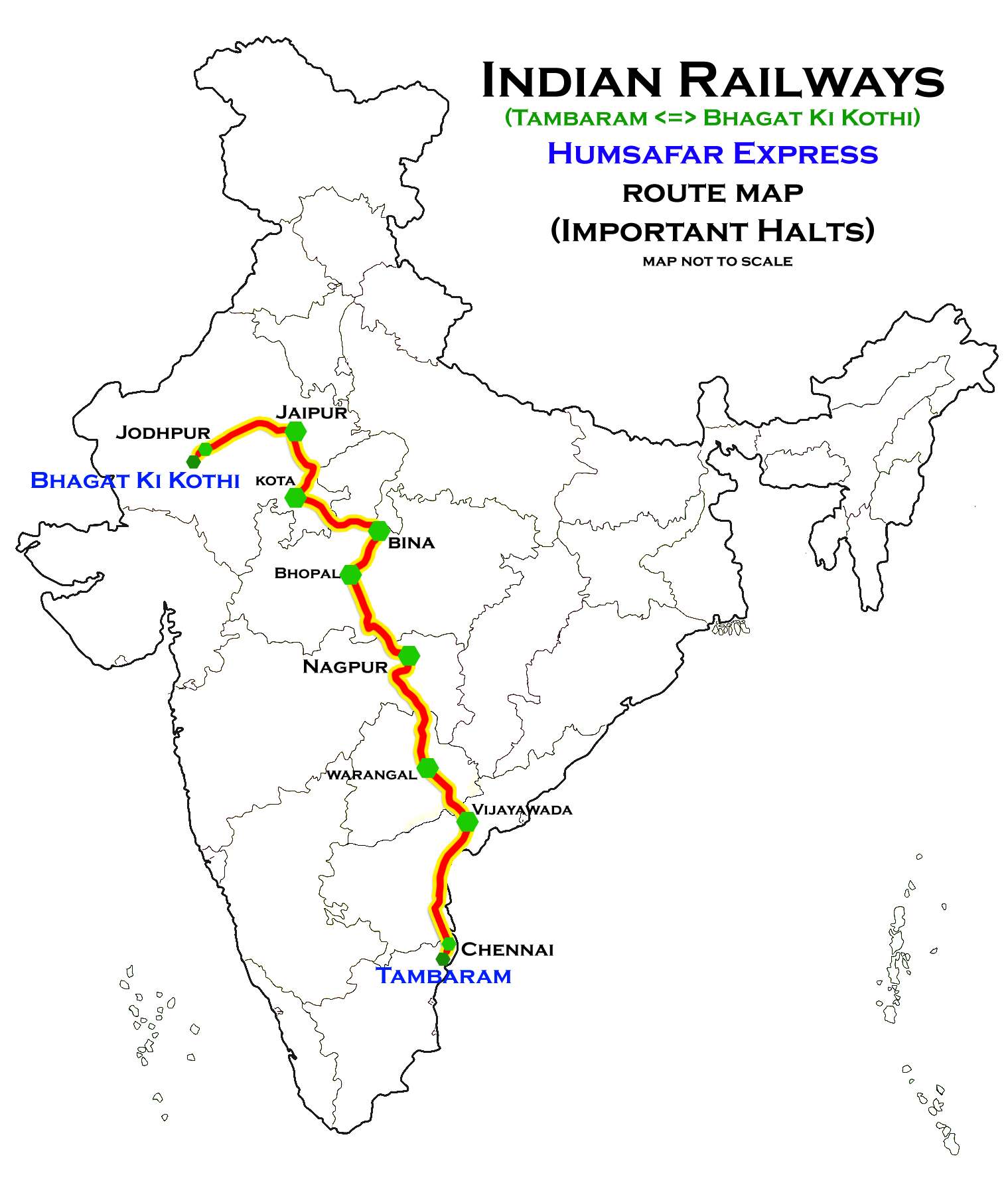 Bhagat Ki Kothi – Tambaram Humsafar Express - Wikipedia