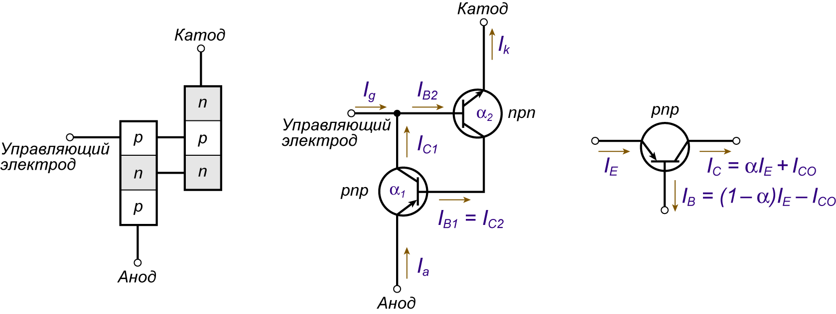 Включение реле через транзистор схема
