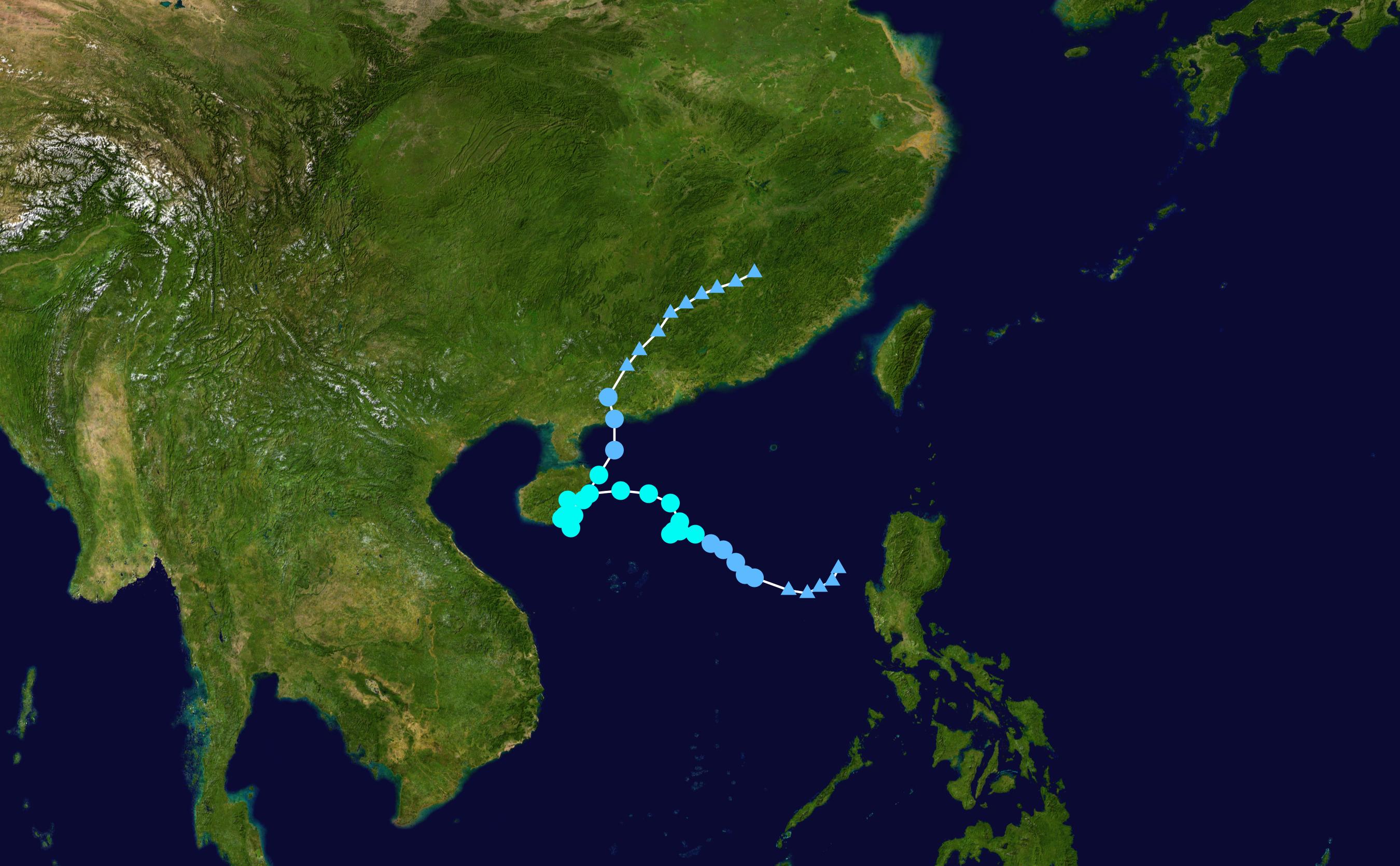 1957 Pacific typhoon season