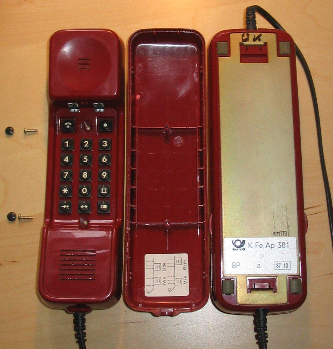 Telefonapparat Modell Dallas - Quelle: WikiCommons