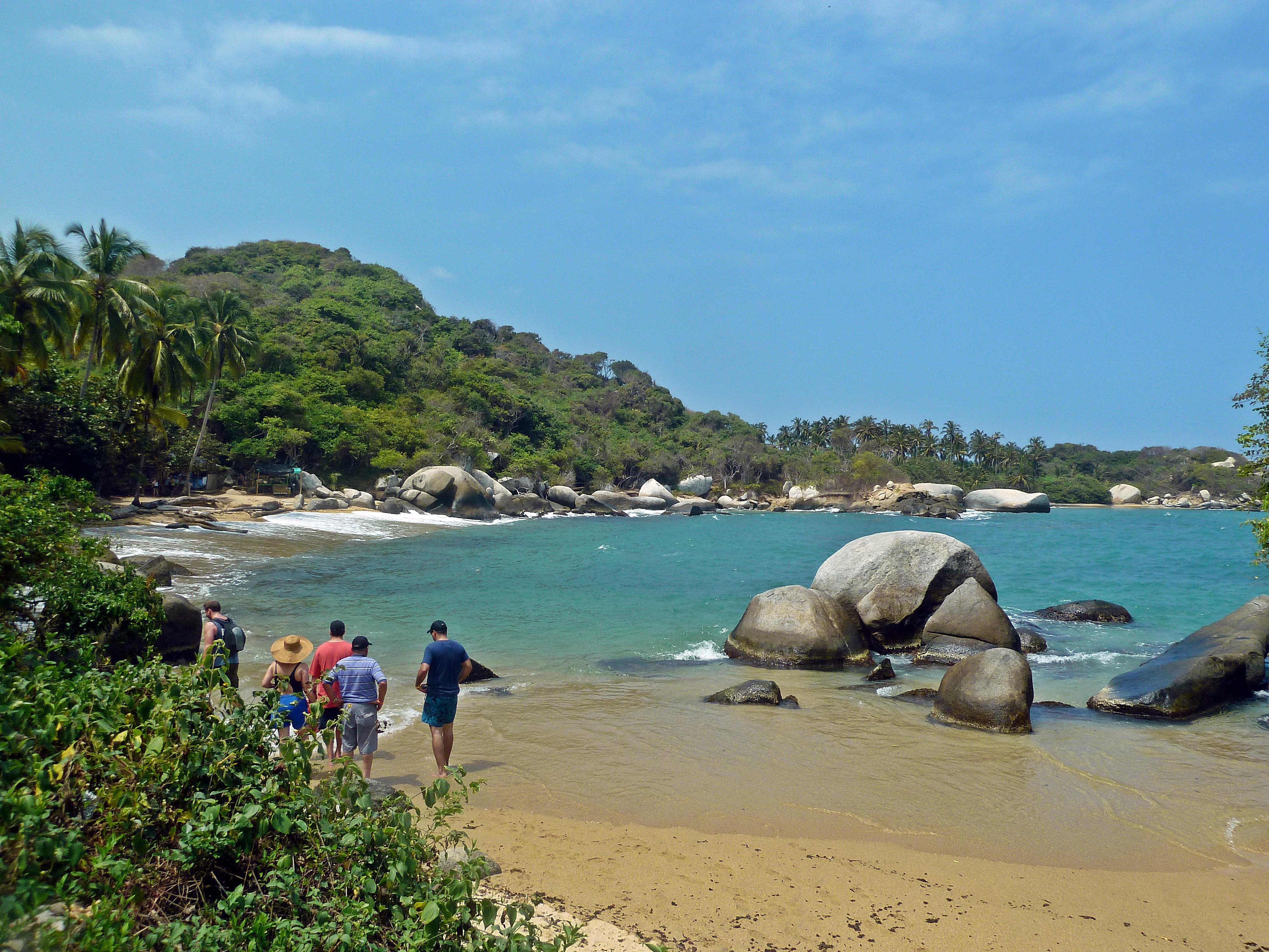Tayrona National Natural Park Beach