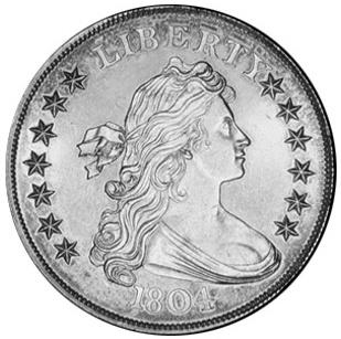 File 1804 Silver Dollar Class Ii Us Mint Specimen