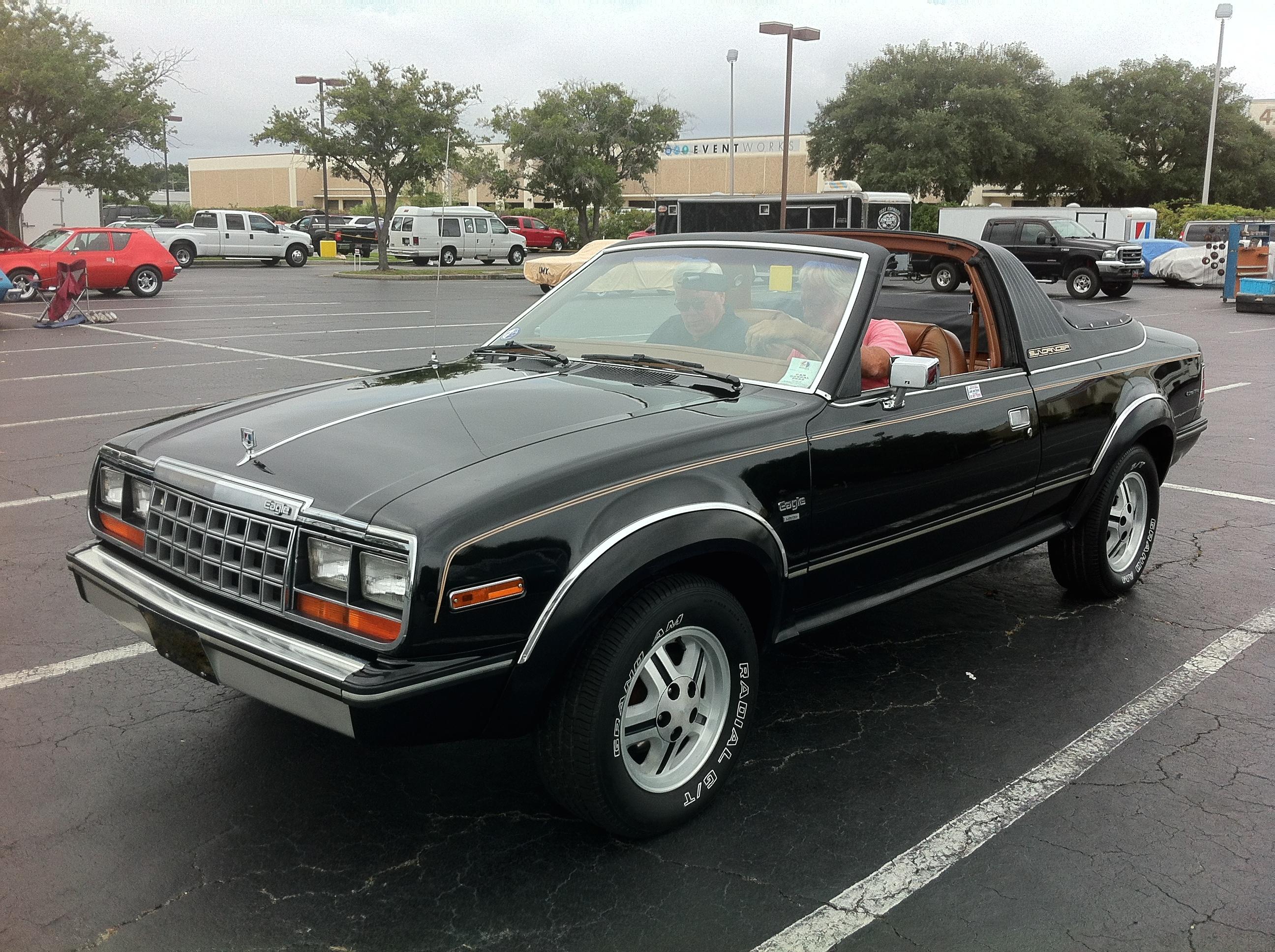 4X4 For Sale >> File:1981 AMC Eagle Sundancer 4WD convertible 2014-AMO-NC-a.jpg - Wikimedia Commons