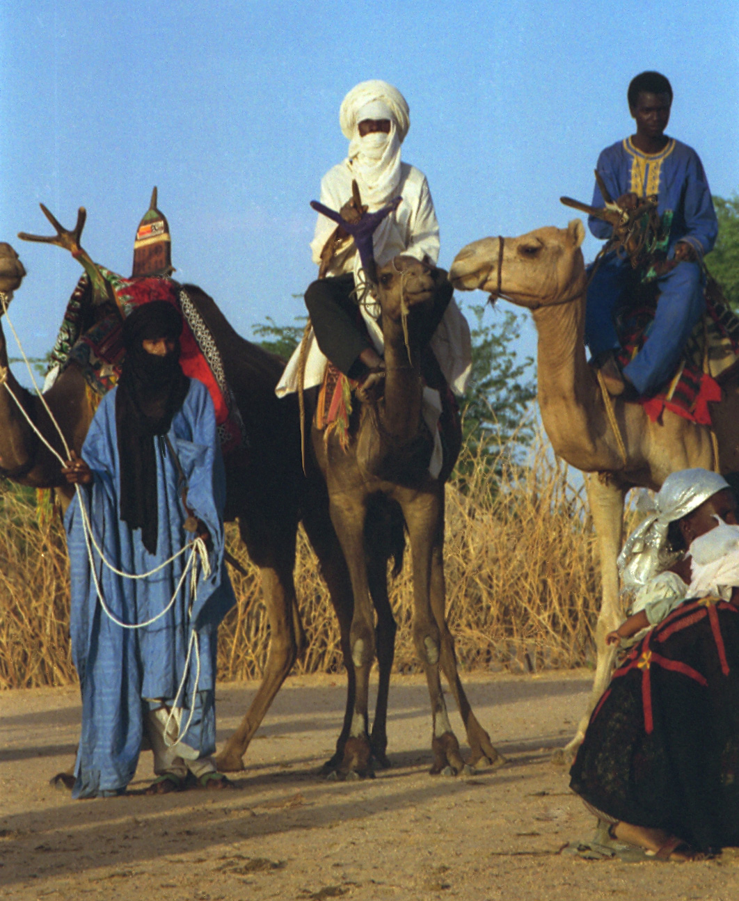 Tuareg men. Niger 1997. Photo Credit: Dan Lundberg