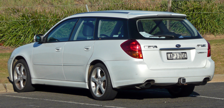 Subaru Legacy Station Wagon (2003-2006)