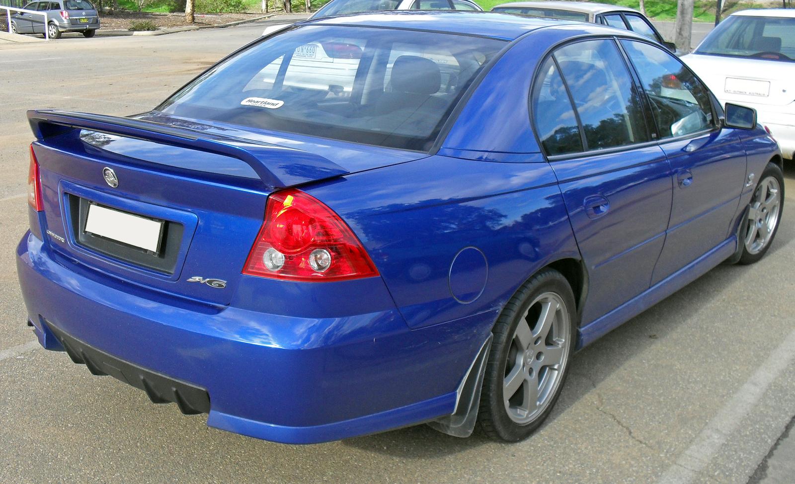 File20042006 Holden VZ Commodore SV6 01jpg  Wikimedia Commons