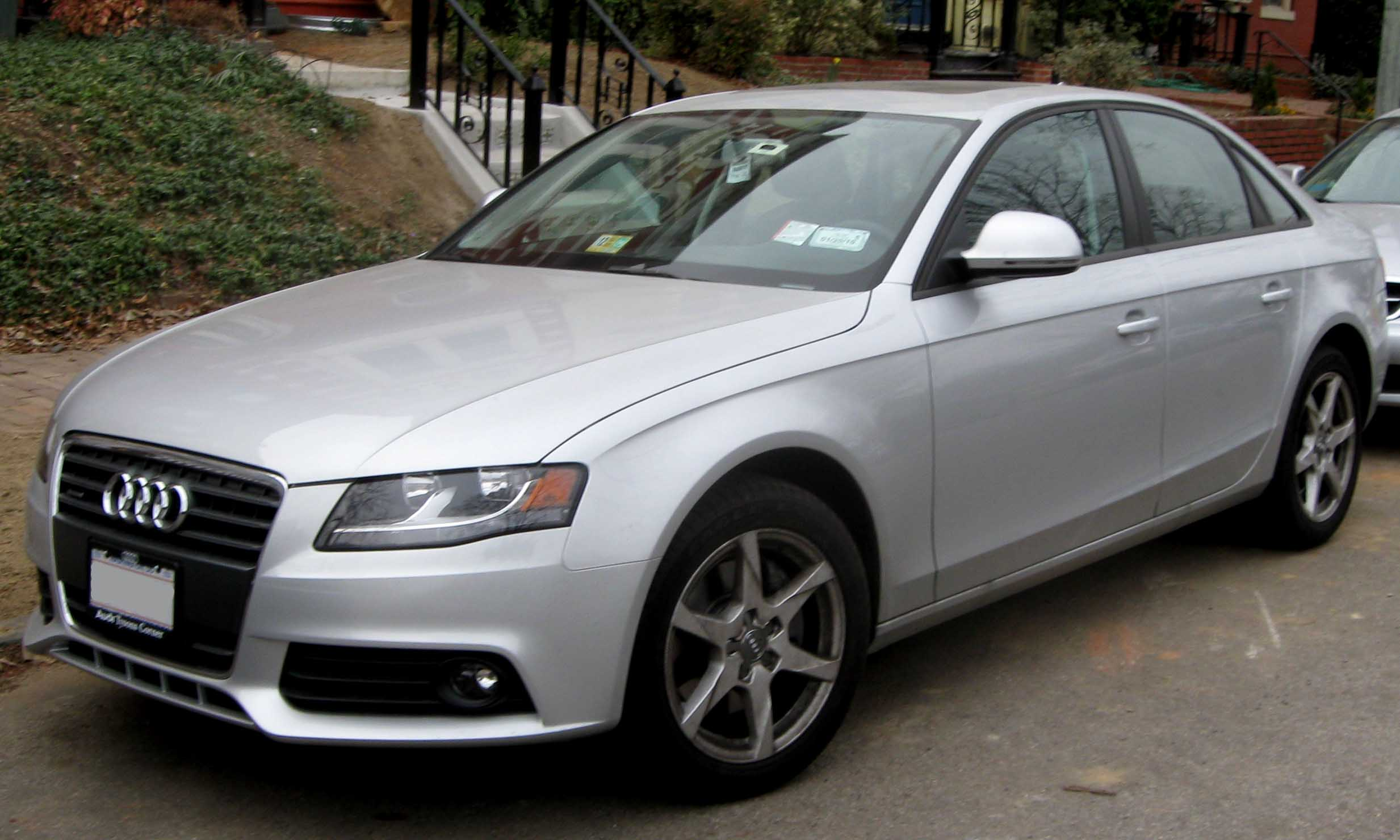 File 2009 Audi A4 Jpg Wikimedia Commons
