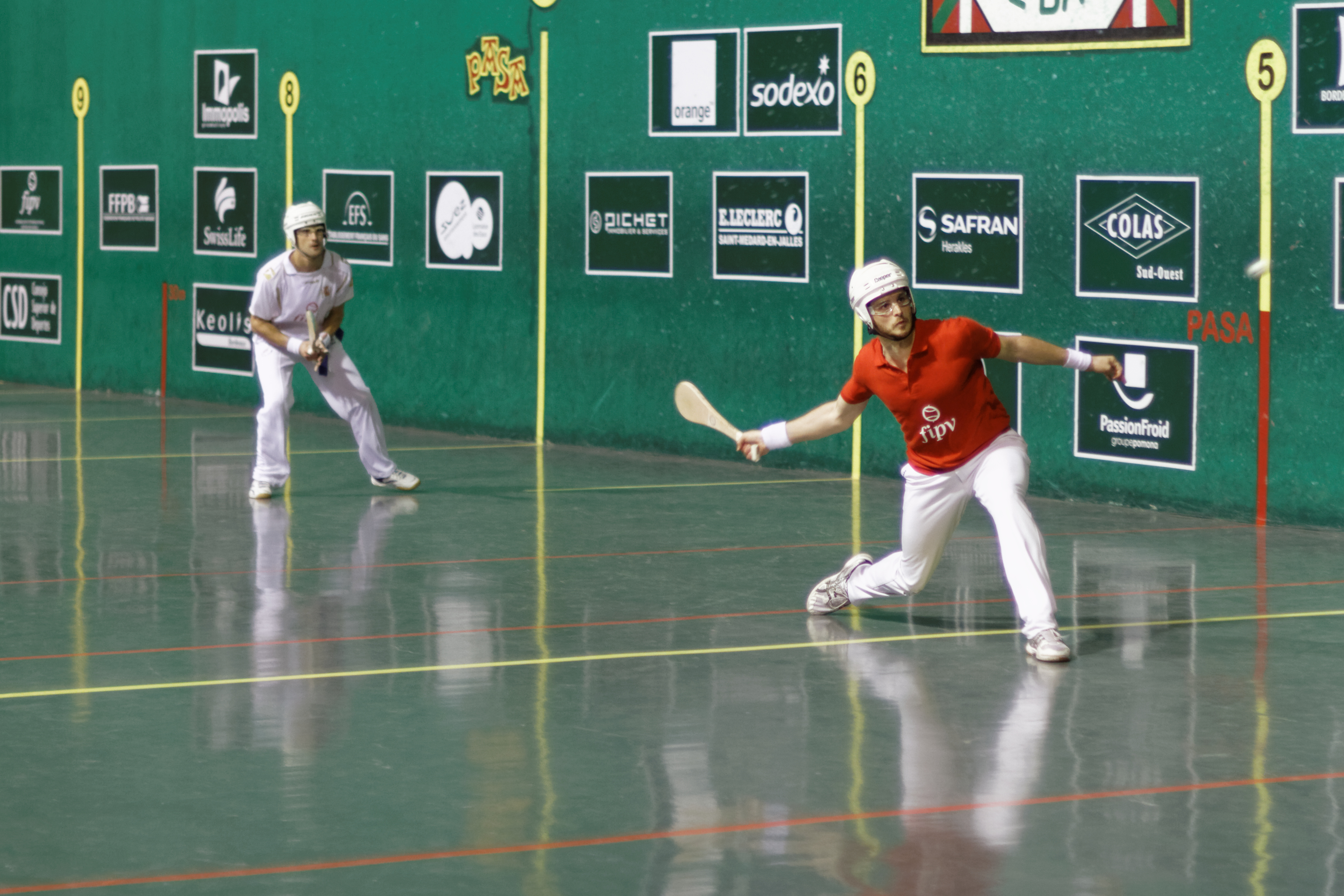 an overview of the jai alai ball in basque language A central concept in basque identity is belonging, not only to the basque people but to a house, known in the basque language as etxea pelota vasca (or basque ball), also known as jai alai, is the world's fiercest, noisiest, most claustrophobic ball game it is played against a high enclosed wall (or fronton), and has.