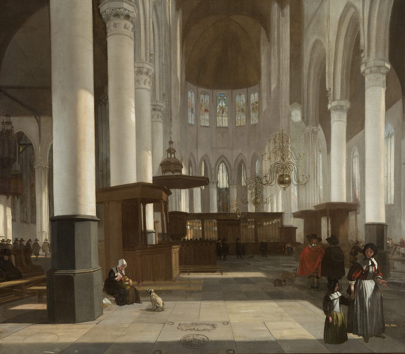 File 385 interieur oude kerk wikimedia commons for Interieur stage amsterdam
