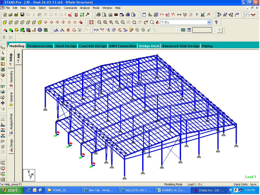 STAAD Pro, Structural Engineering,