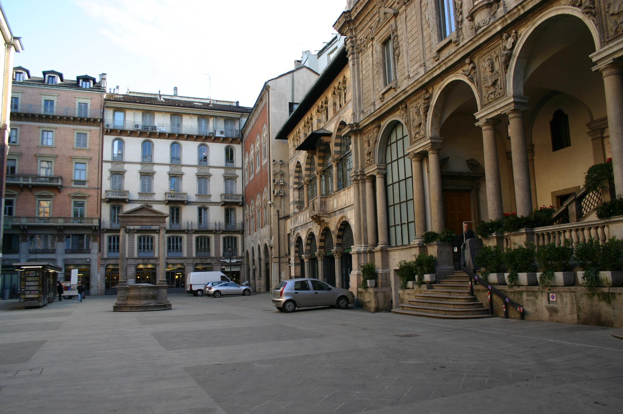 4761 - Milano - Piazza Mercanti - Foto Giovanni Dall'Orto, 23-Jan-2008.jpg