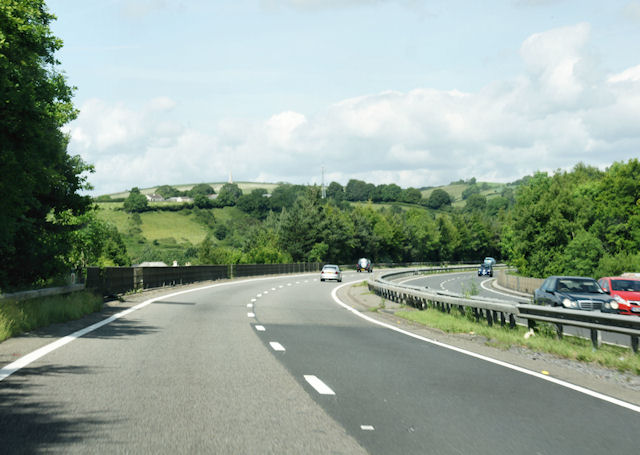 File:A38, South of Buckfastleigh - geograph.org.uk - 1367420.jpg