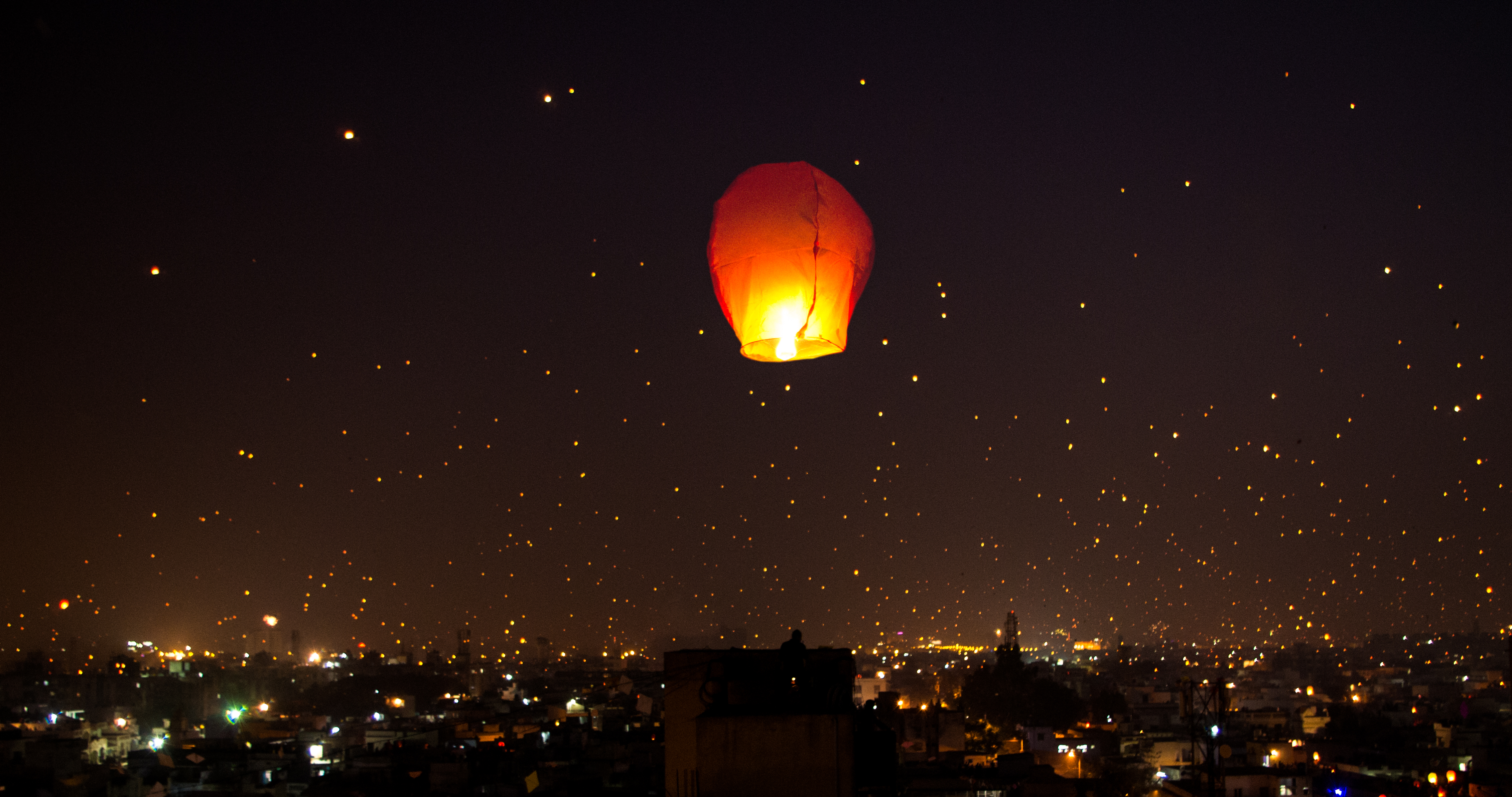 FileA night lit up on Makar Sankranti Uttarayana Festival with Kites and Lights India & File:A night lit up on Makar Sankranti Uttarayana Festival with ...