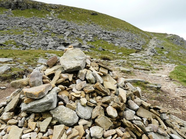Almost at the Summit of Ingleborough - geograph.org.uk - 1386237