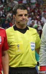 Andrés Cunha Uruguayan football referee