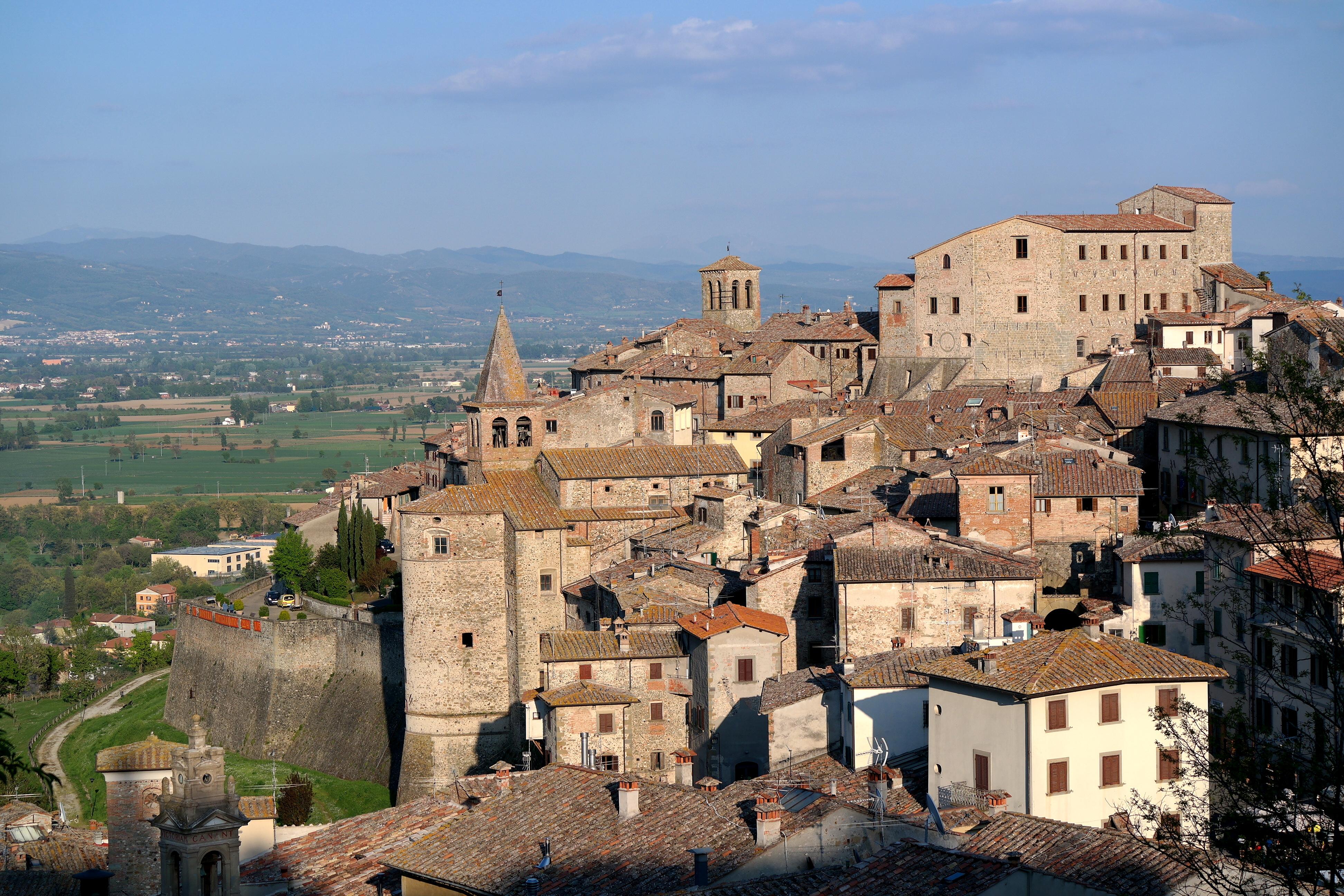 Veduta di Anghiari (Arezzo)