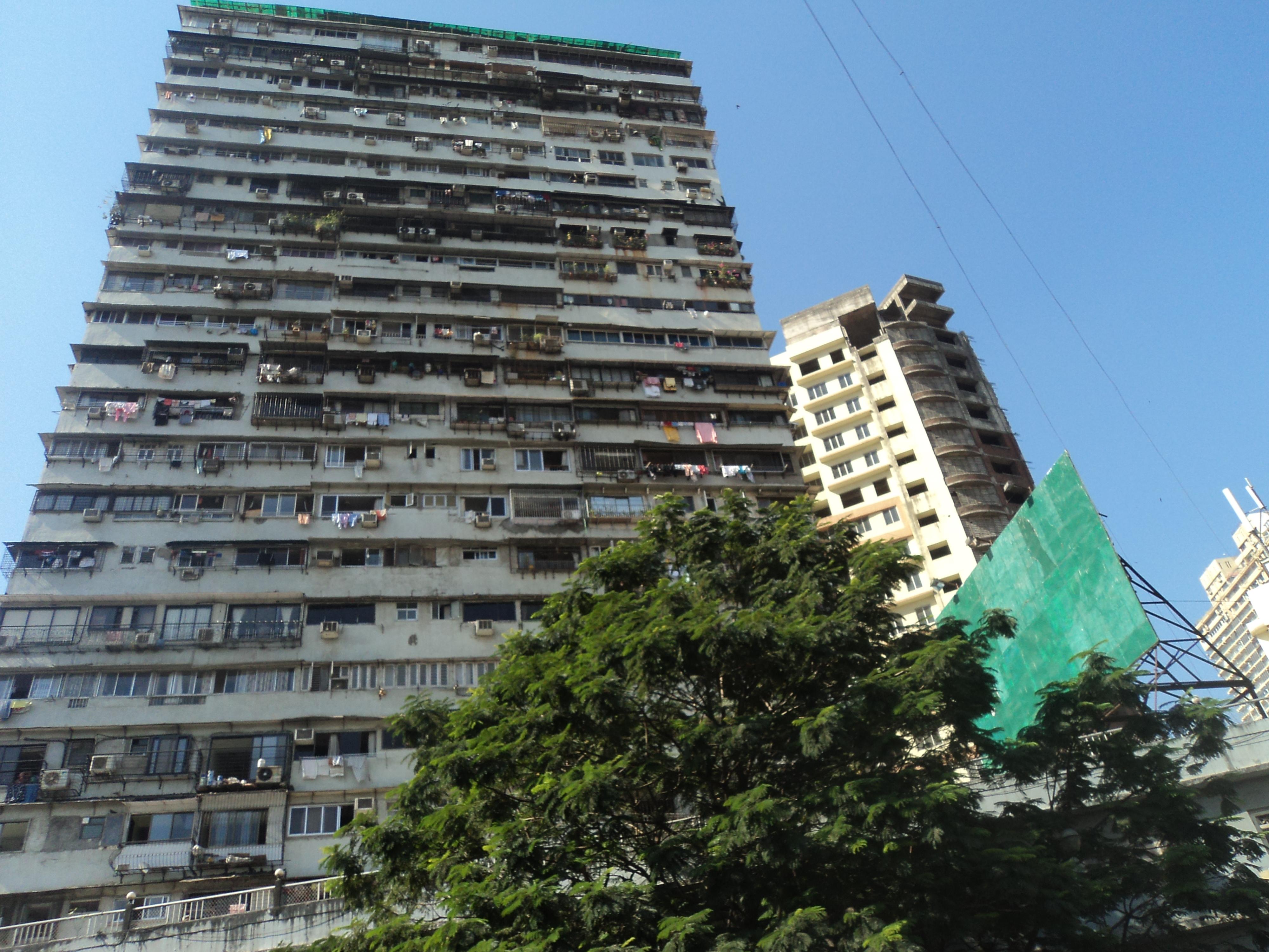 File Apartments Tall Mumbai Tn549 Jpg