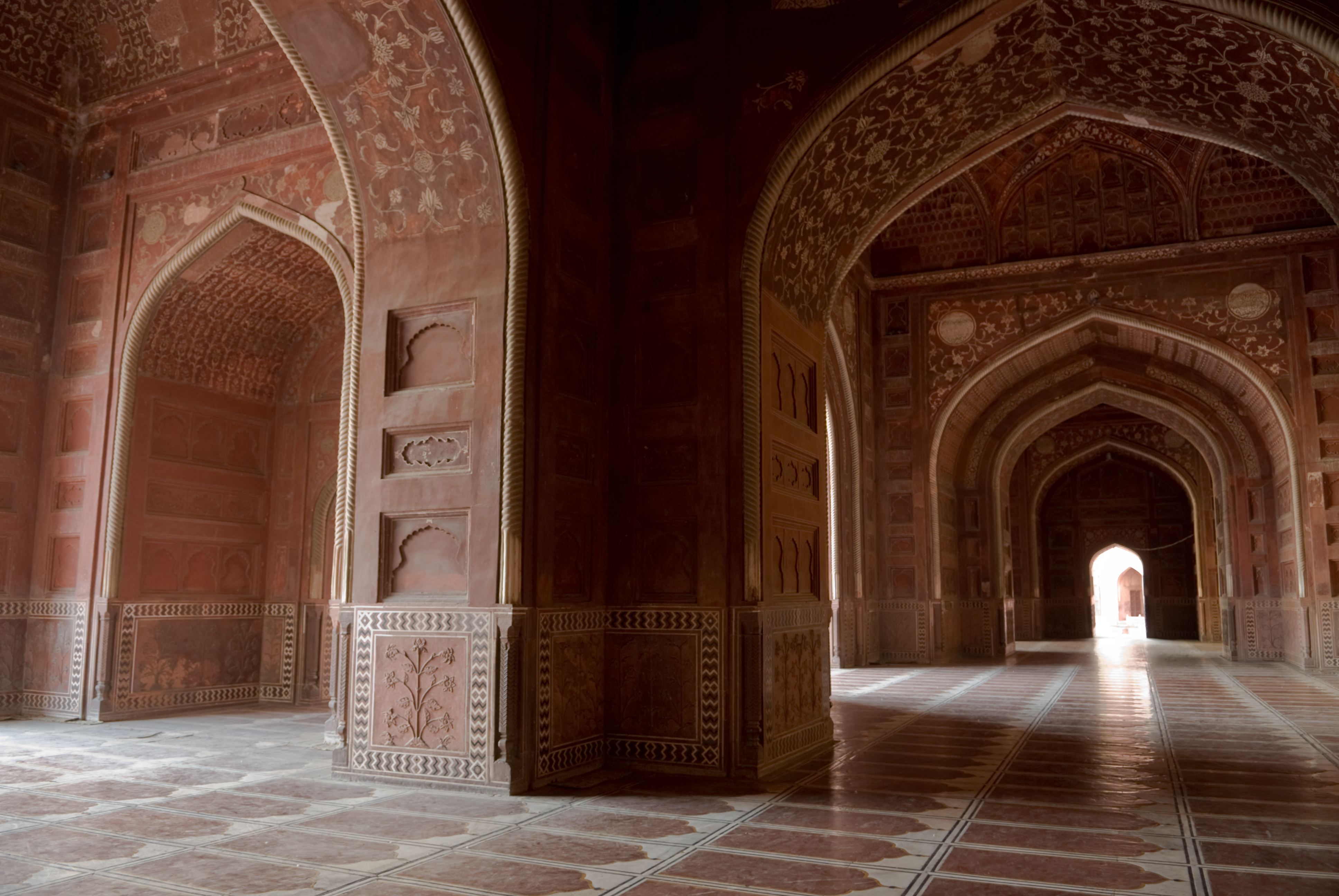 Taj mahal the beauty of india unknown fact for Pictures inside