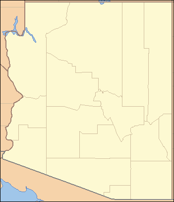 List Of Arizona State Parks Wikipedia - Southwest us county map