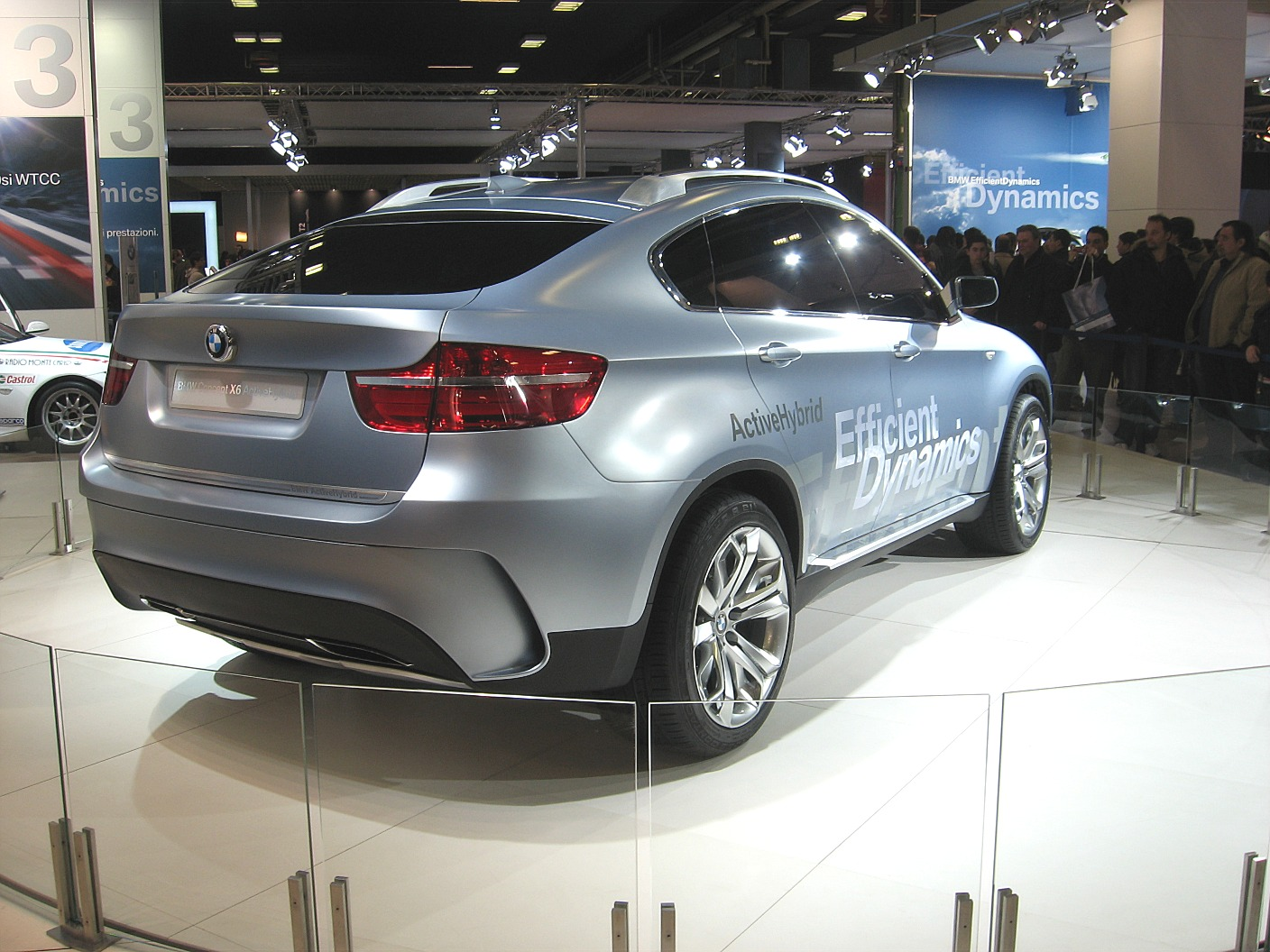 File:BMW X6-ActiveHybrid Rear-view.JPG - Wikimedia Commons