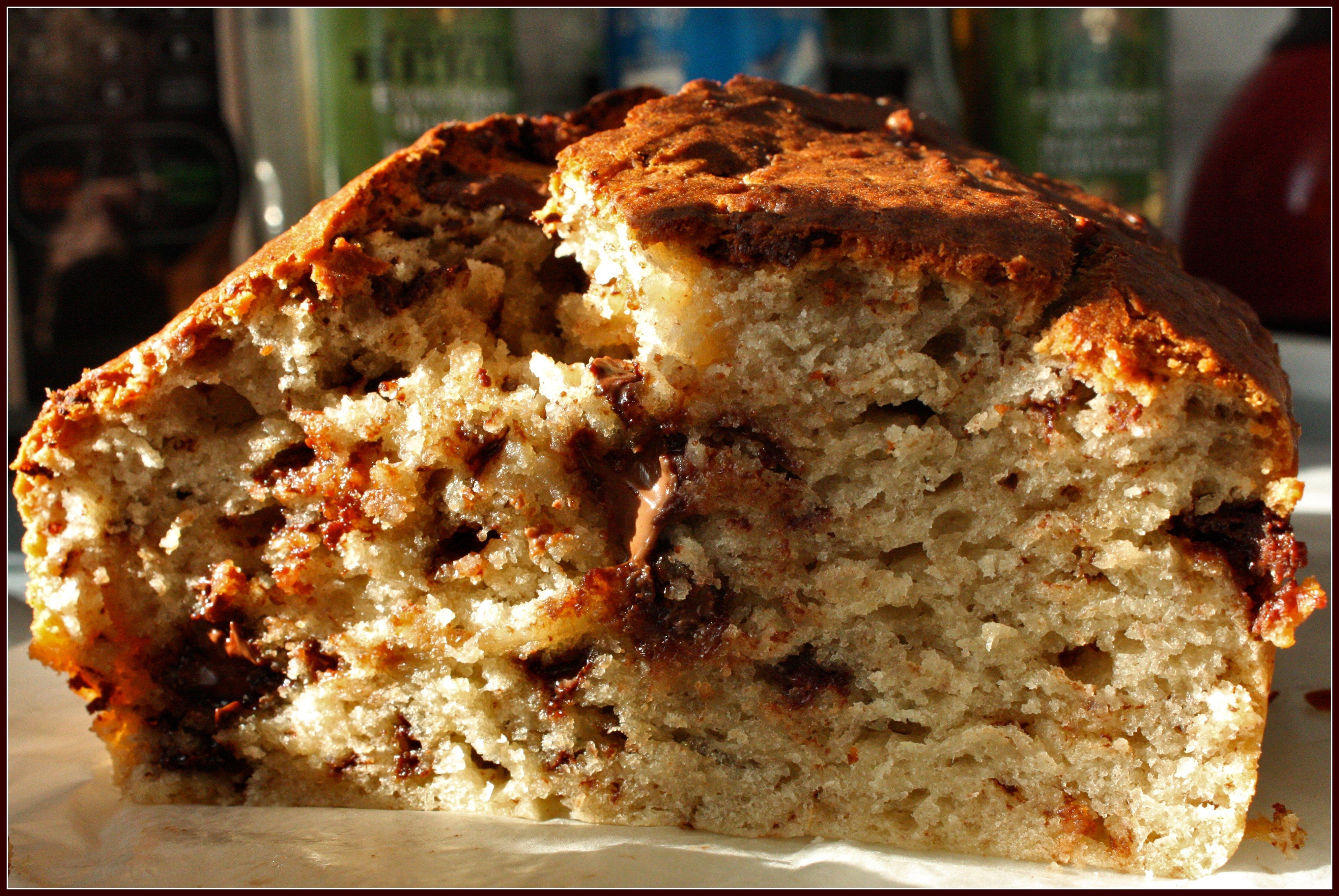 Chocolate Chip Banana Bread Bundt Cake