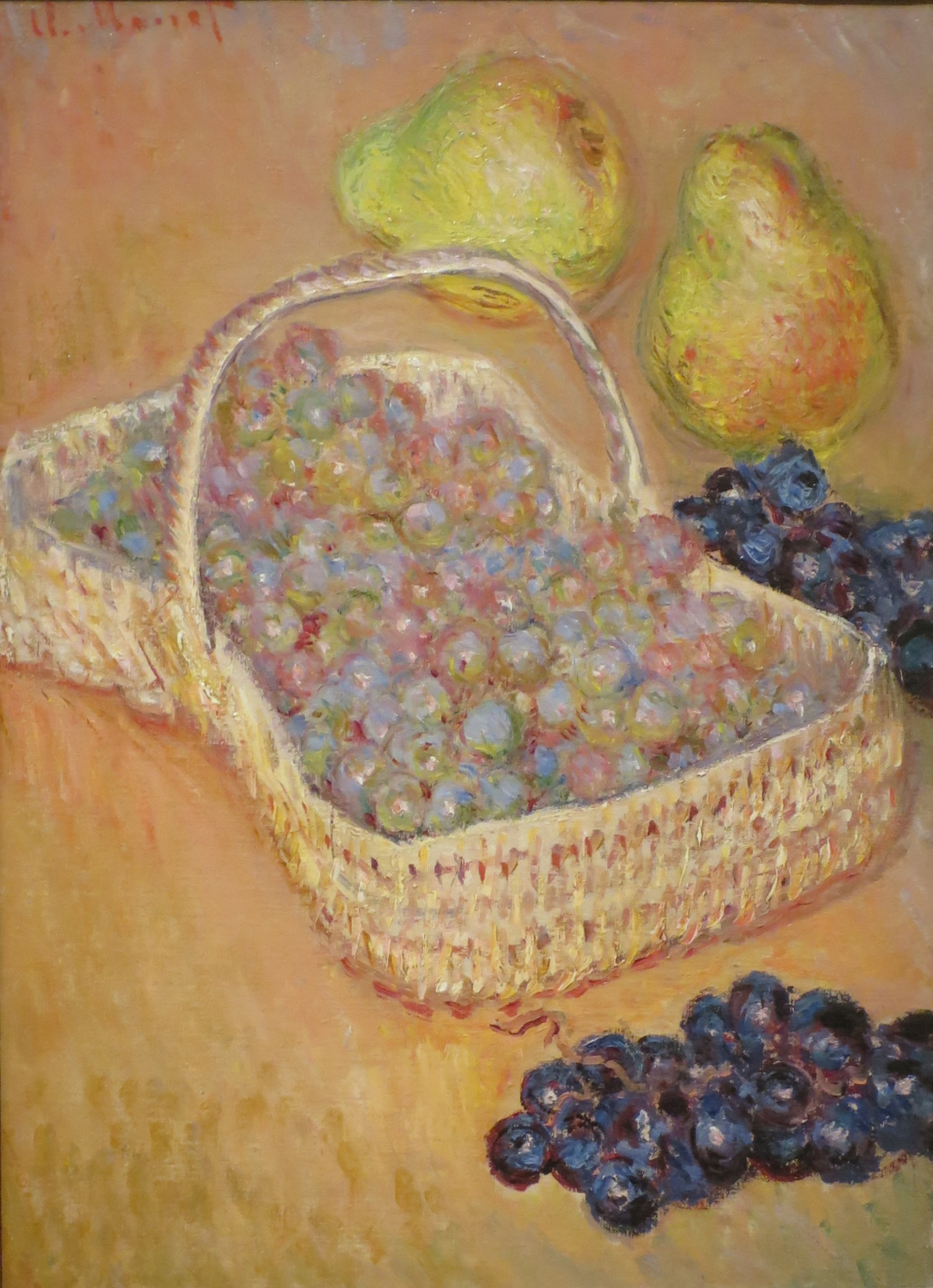 File:Basket of Grapes by Claude Monet, Columbus Museum of Art .JPG -  Wikimedia Commons