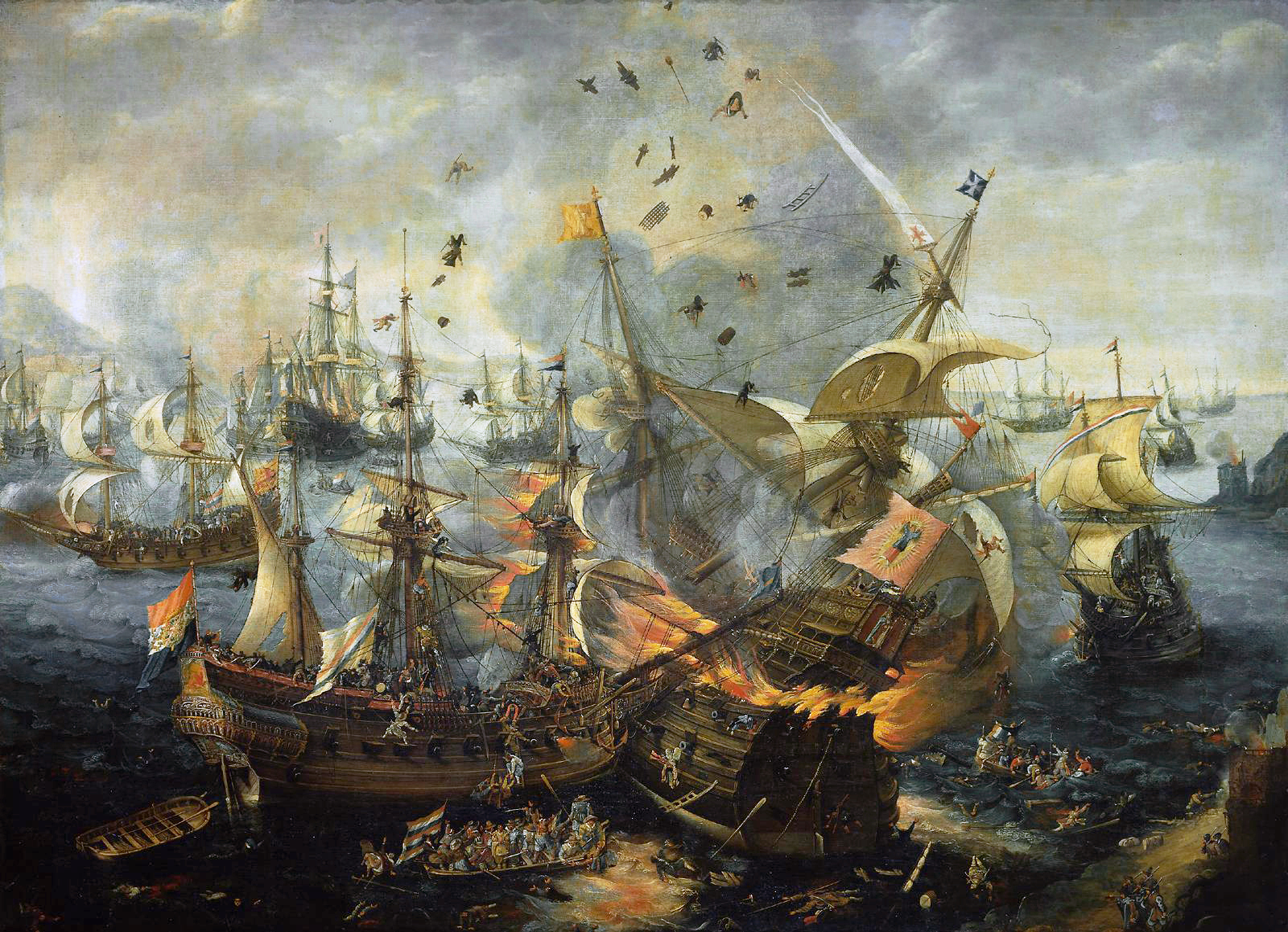 Galeón Battle_of_Gibraltar_1607