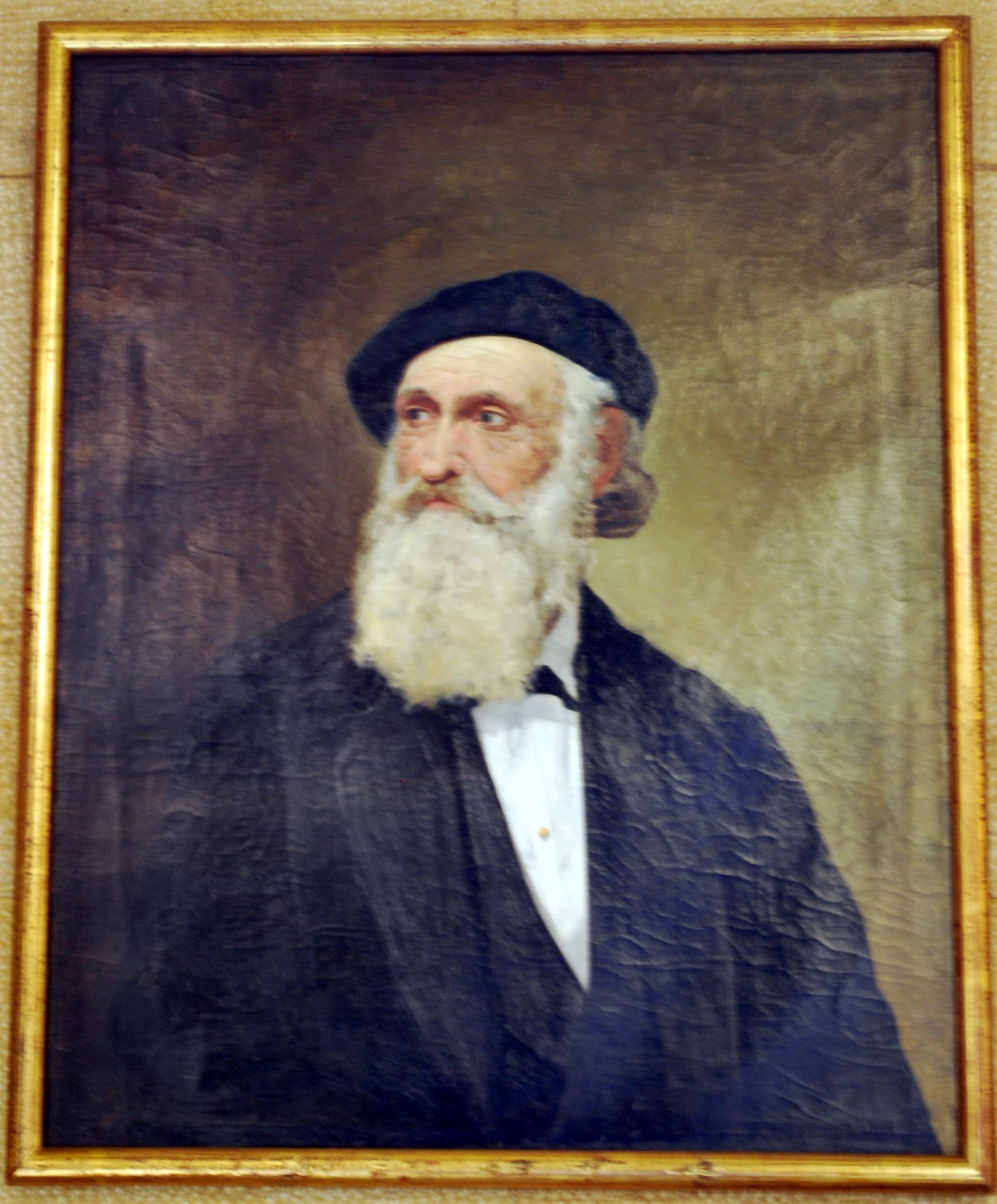 Retrato de Iparraguirre en la Casa de Juntas de Gernika.