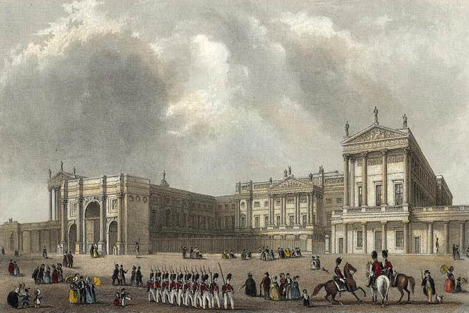 Image result for buckingham palace victoria
