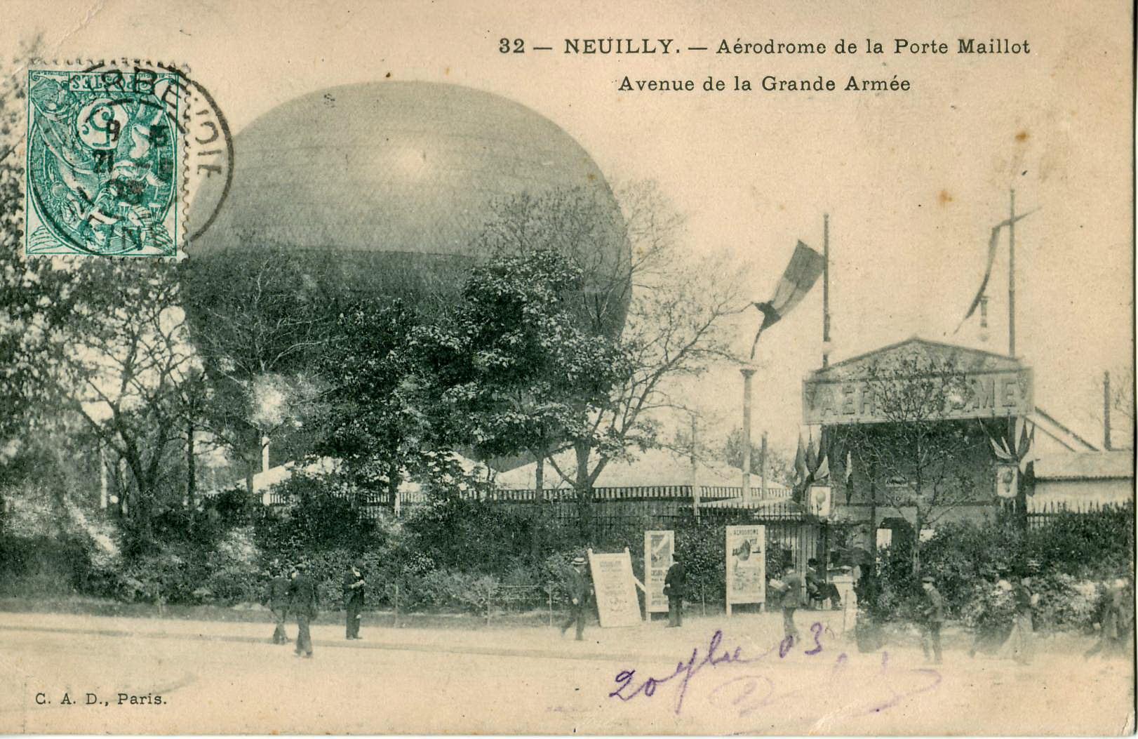 File cad 32 neuilly a rodrome de la porte maillot for La villa corse porte maillot